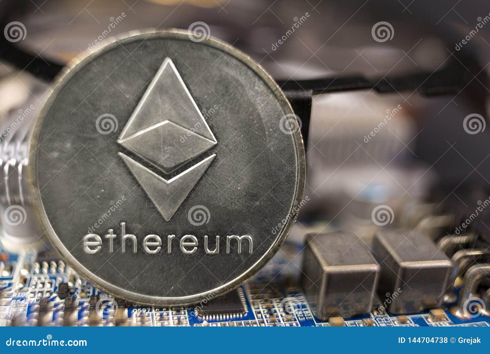 Górniczy cryptocurrency ethereum pojęcie