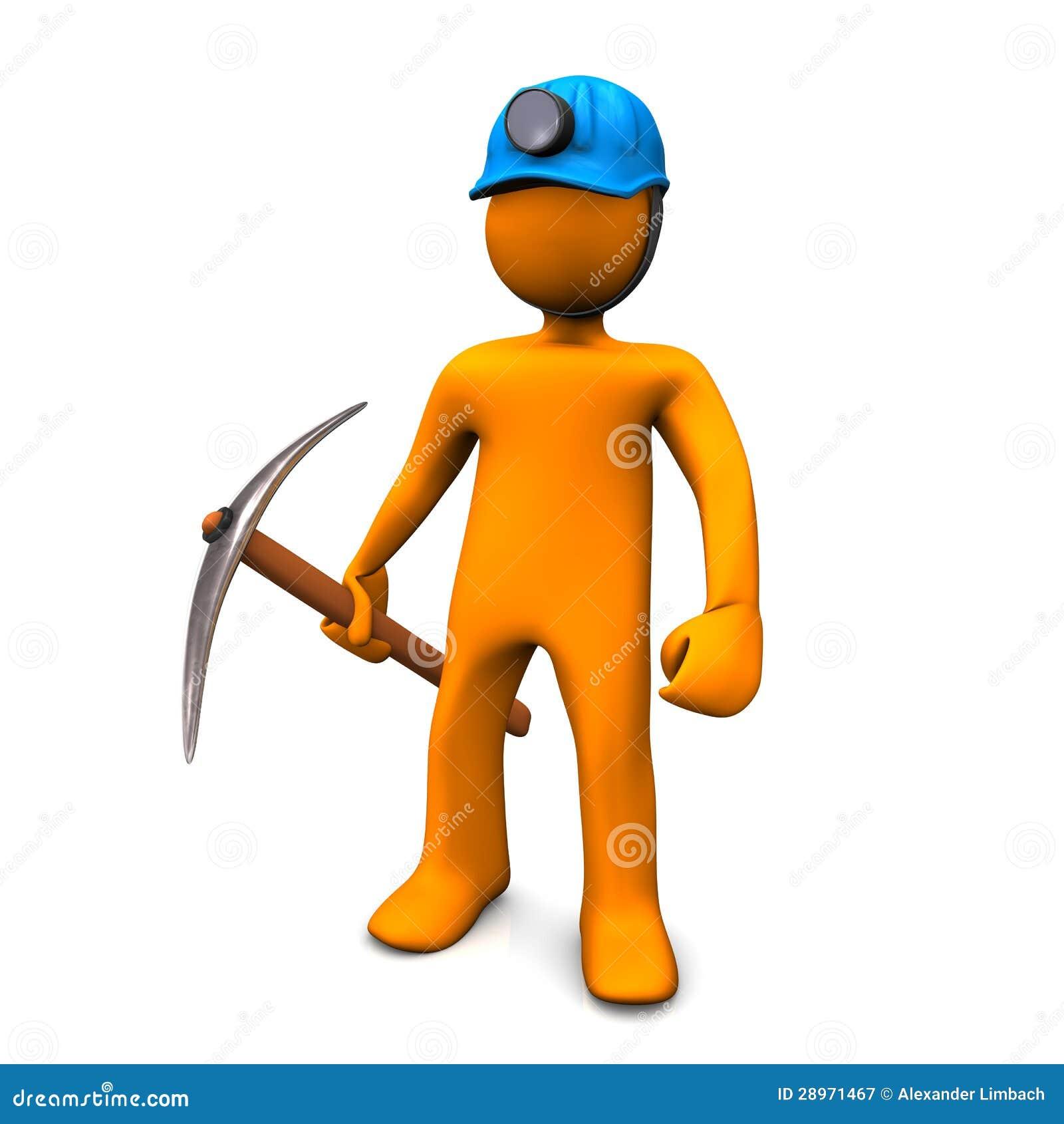 Górniczy mężczyzna
