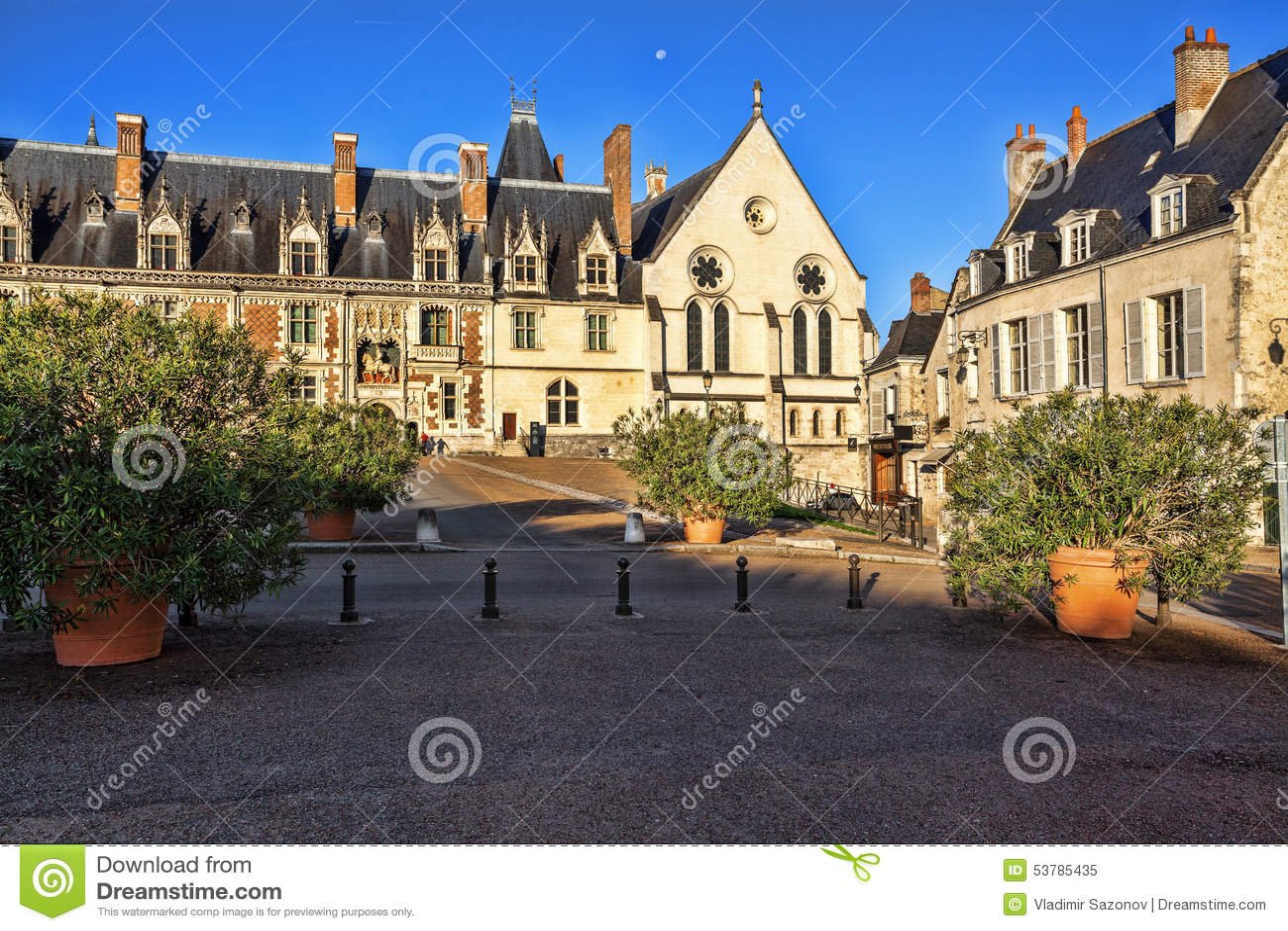 Górska chata Królewski De Blois