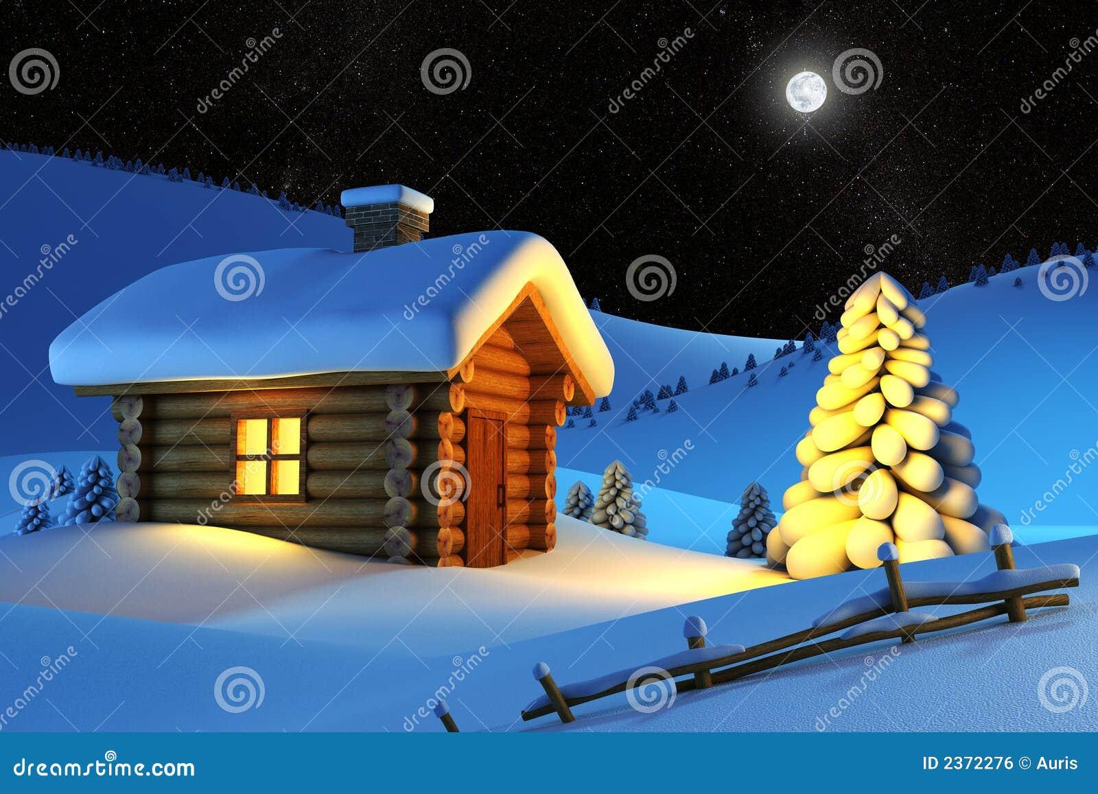 Górski śnieg w domu