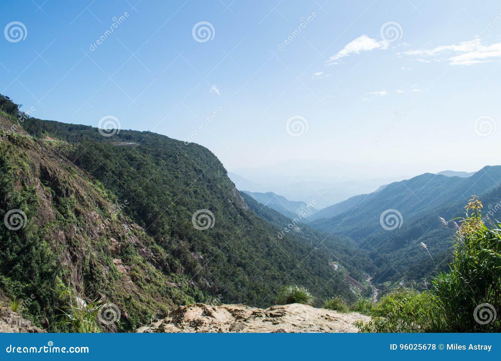 Góry Da Krajobrazowy pobliski Lat, Wietnam