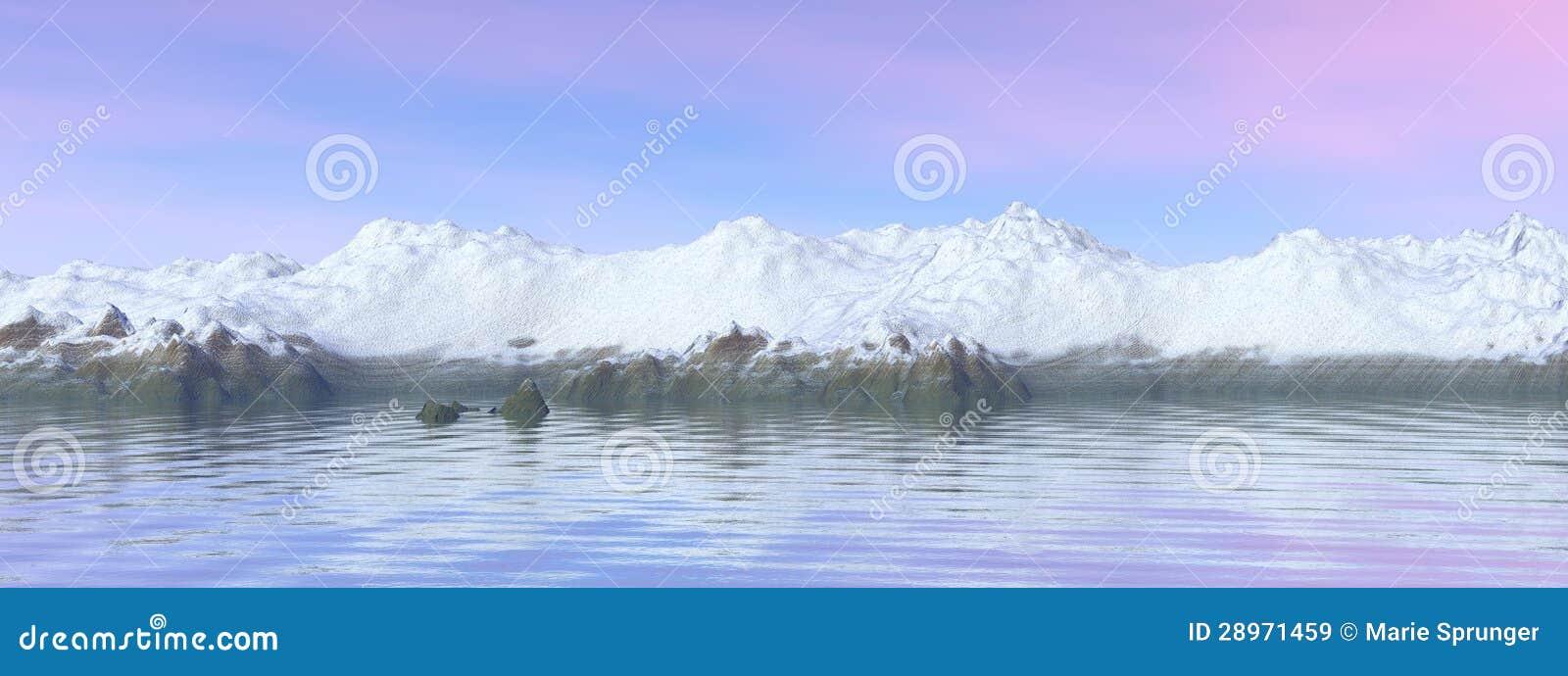 Góry i nieba błękit