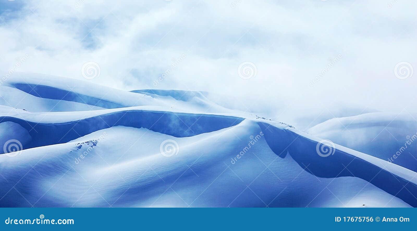 Góry krajobrazowa zima
