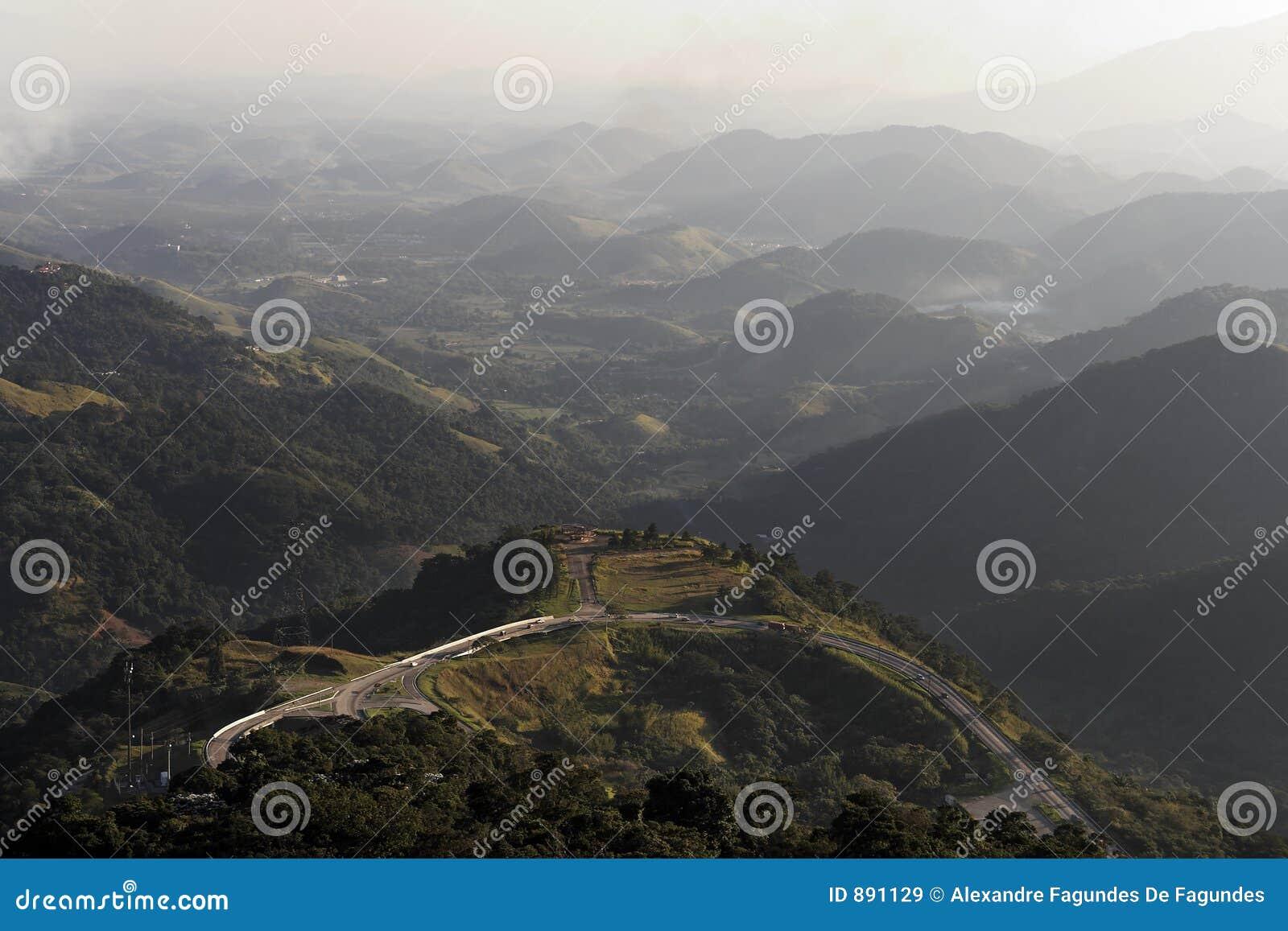 Góry krajobrazowe drogowe