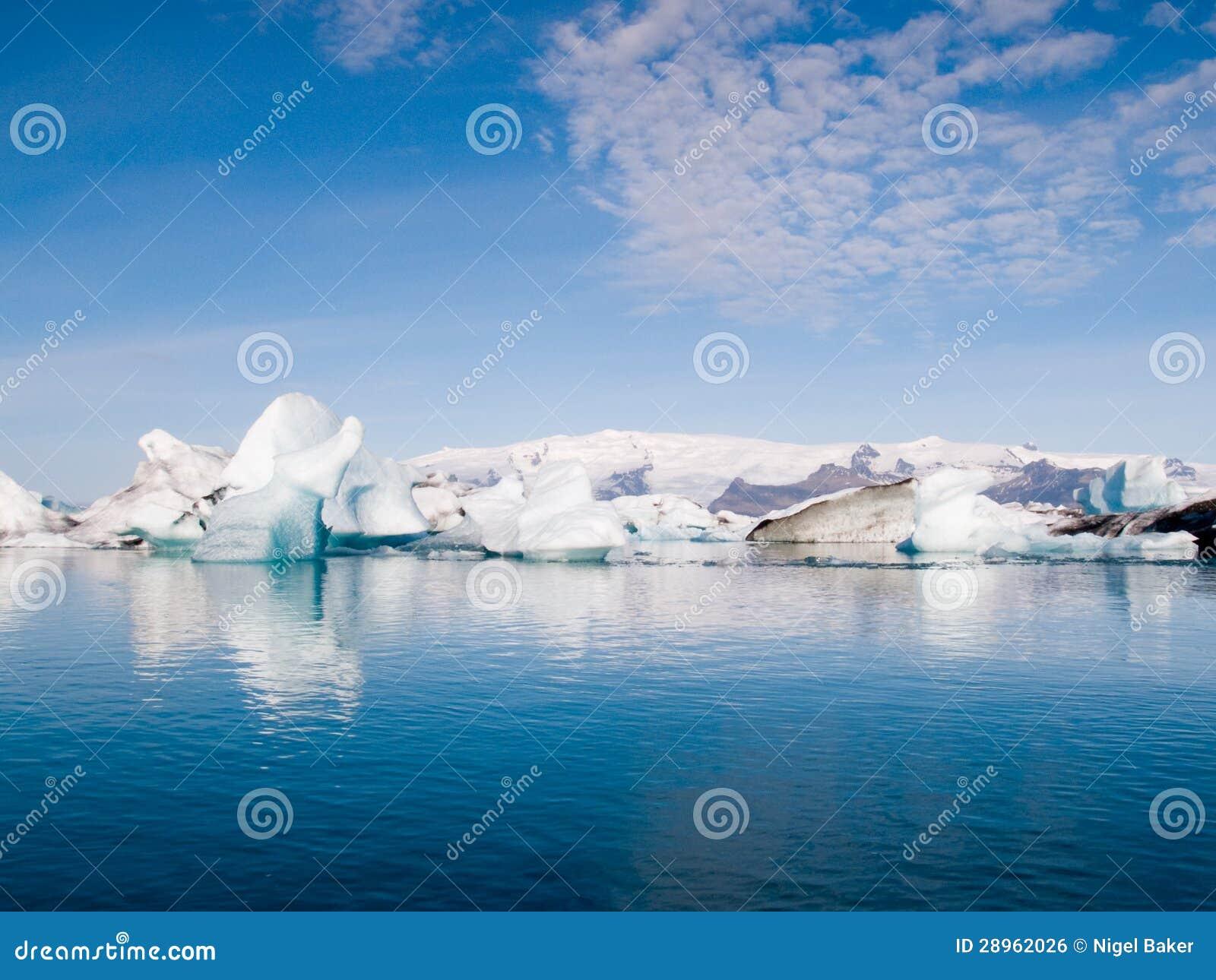 Góry lodowa Na morzu