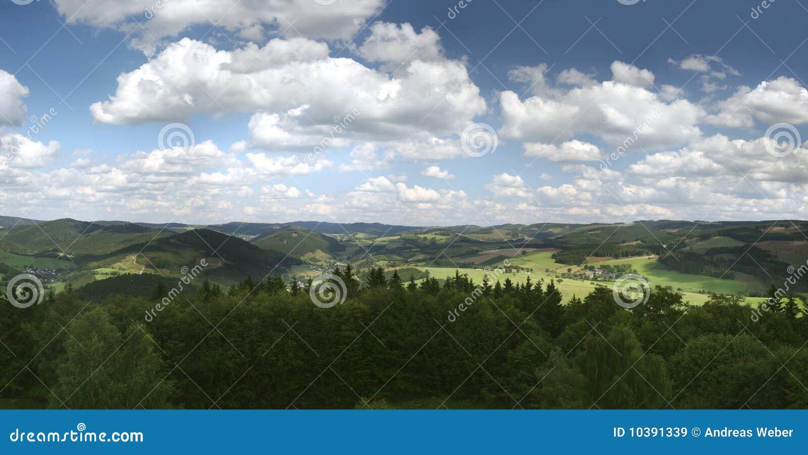 Góry niemiecki sauerland
