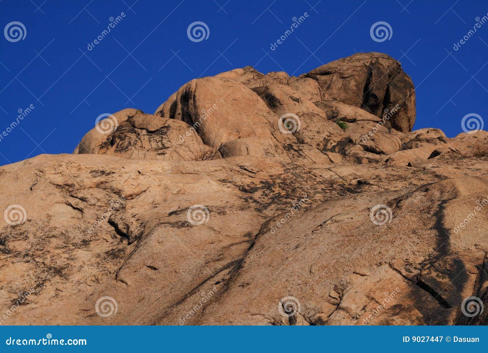 Góry skały wierzchołek