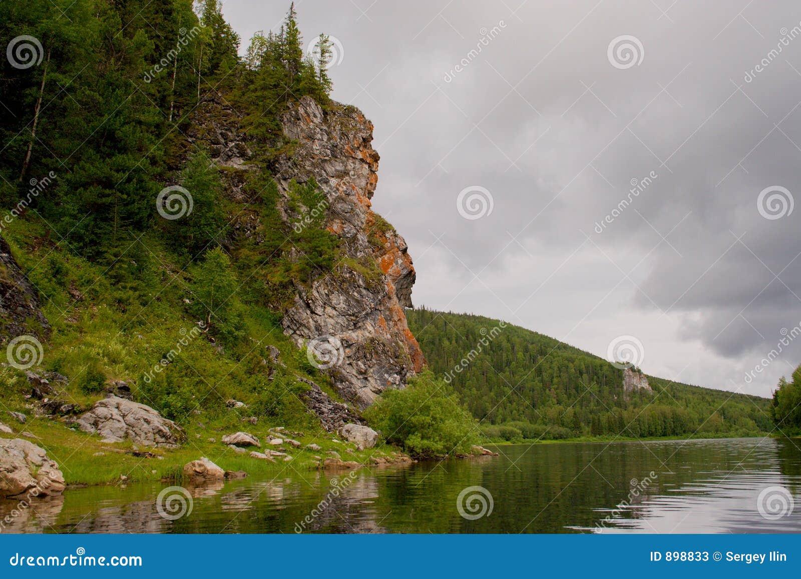 Góry ural vishera rzeki