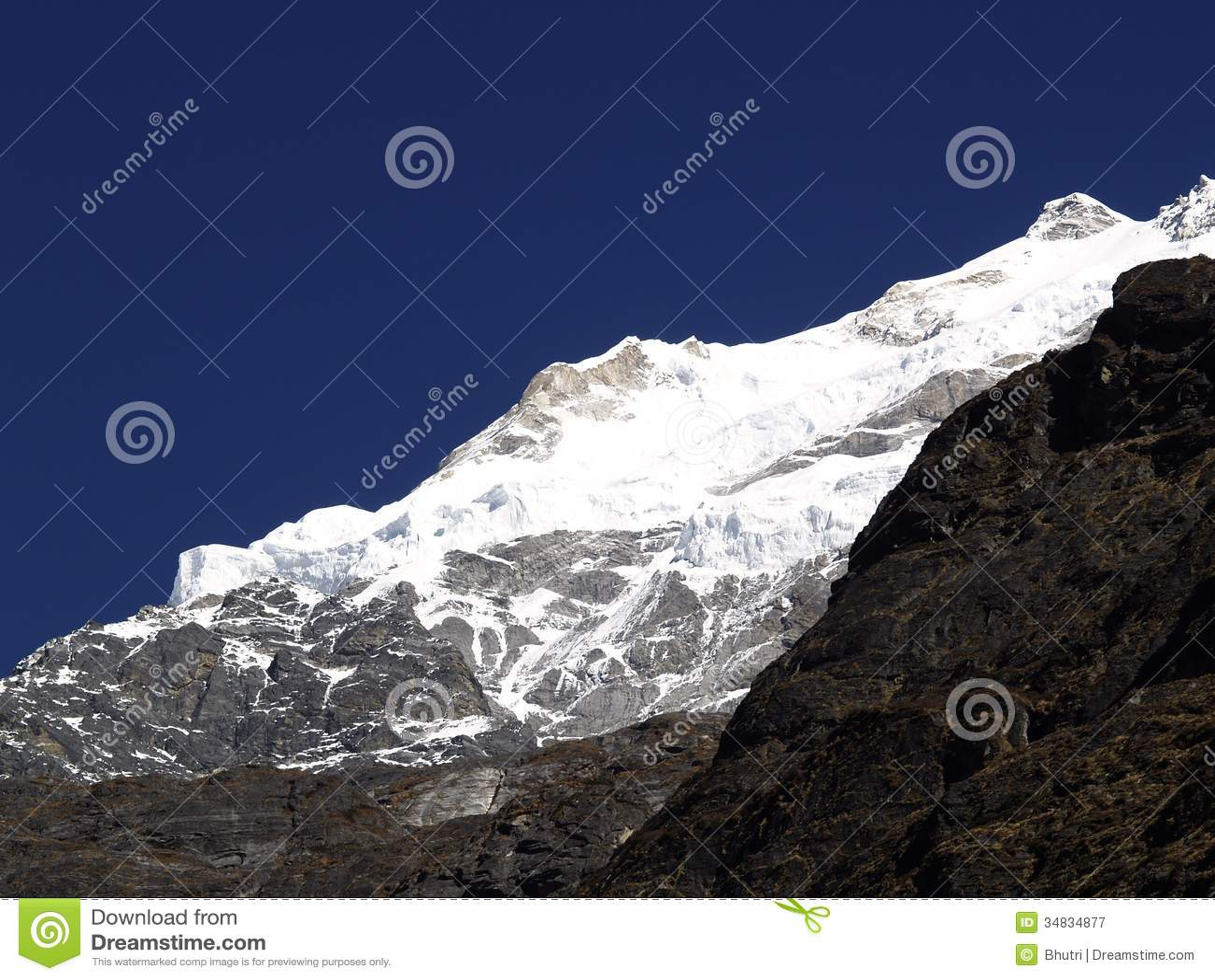 Góry w Langtang