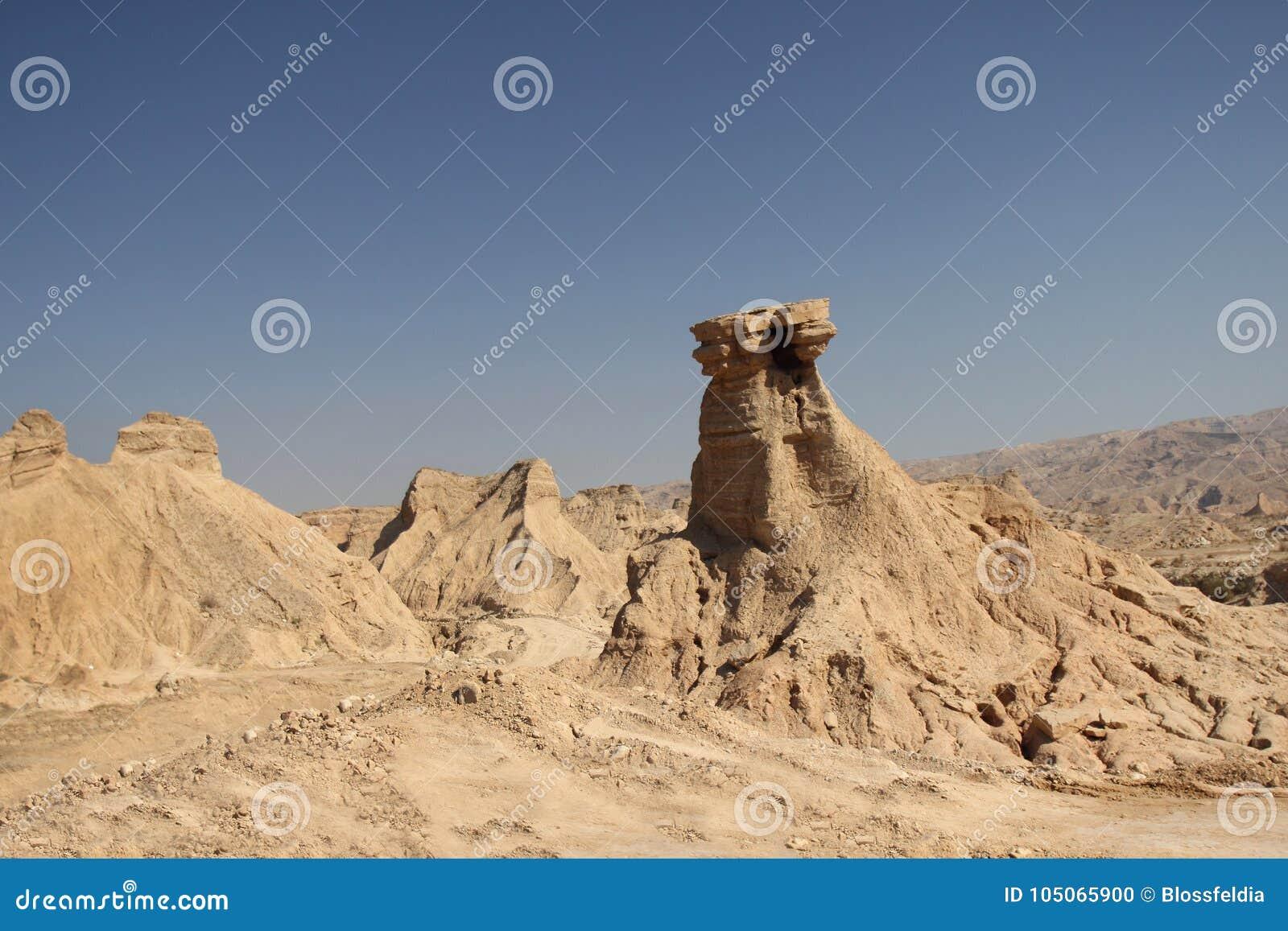 Góry wzdłuż Perskiej zatoki w Iran