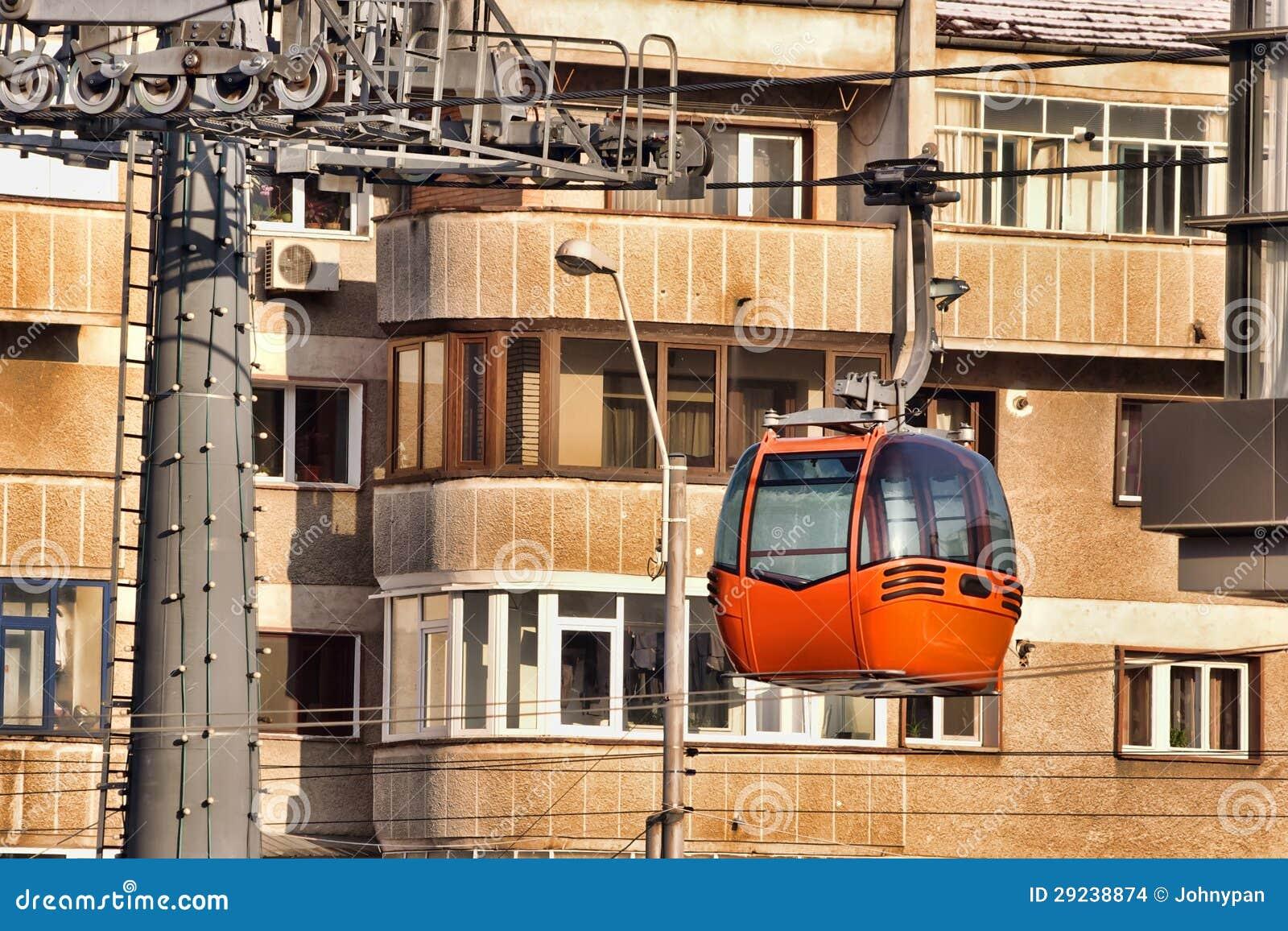 Download Gôndola da cidade foto de stock. Imagem de tecnologia - 29238874