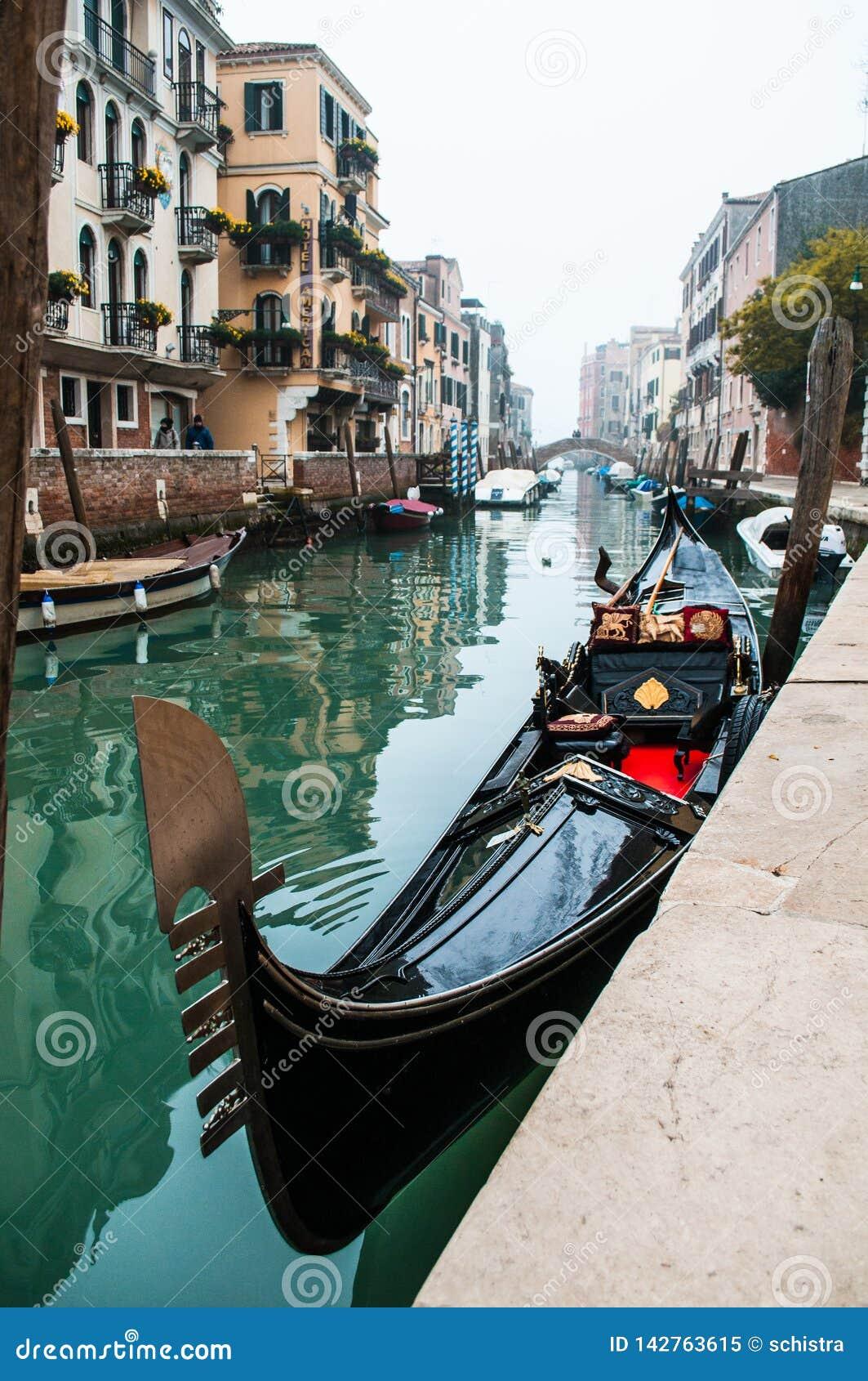 Gôndola em Veneza, Italy