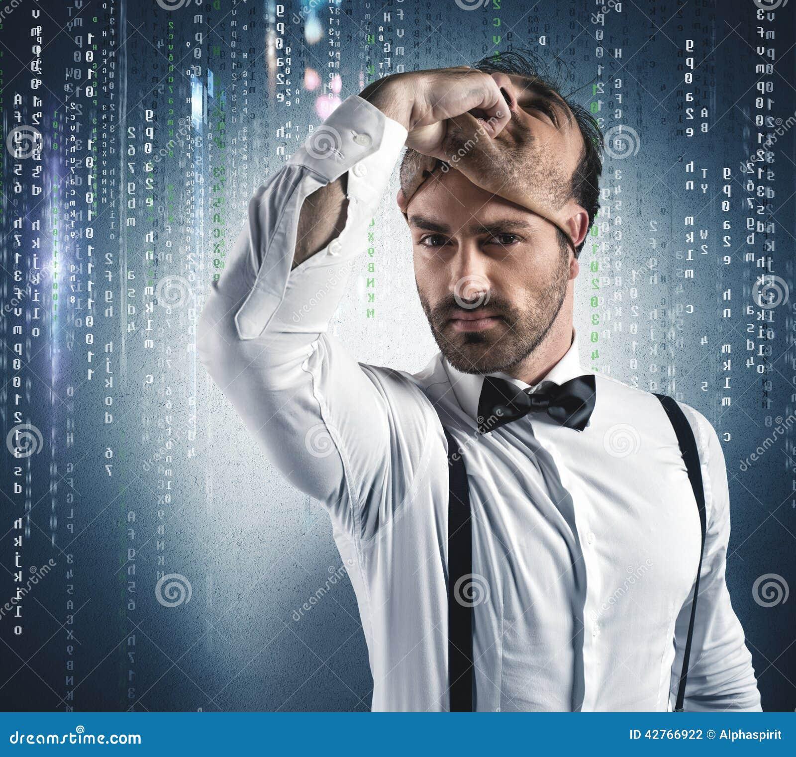 Gömd identitet av en en hacker