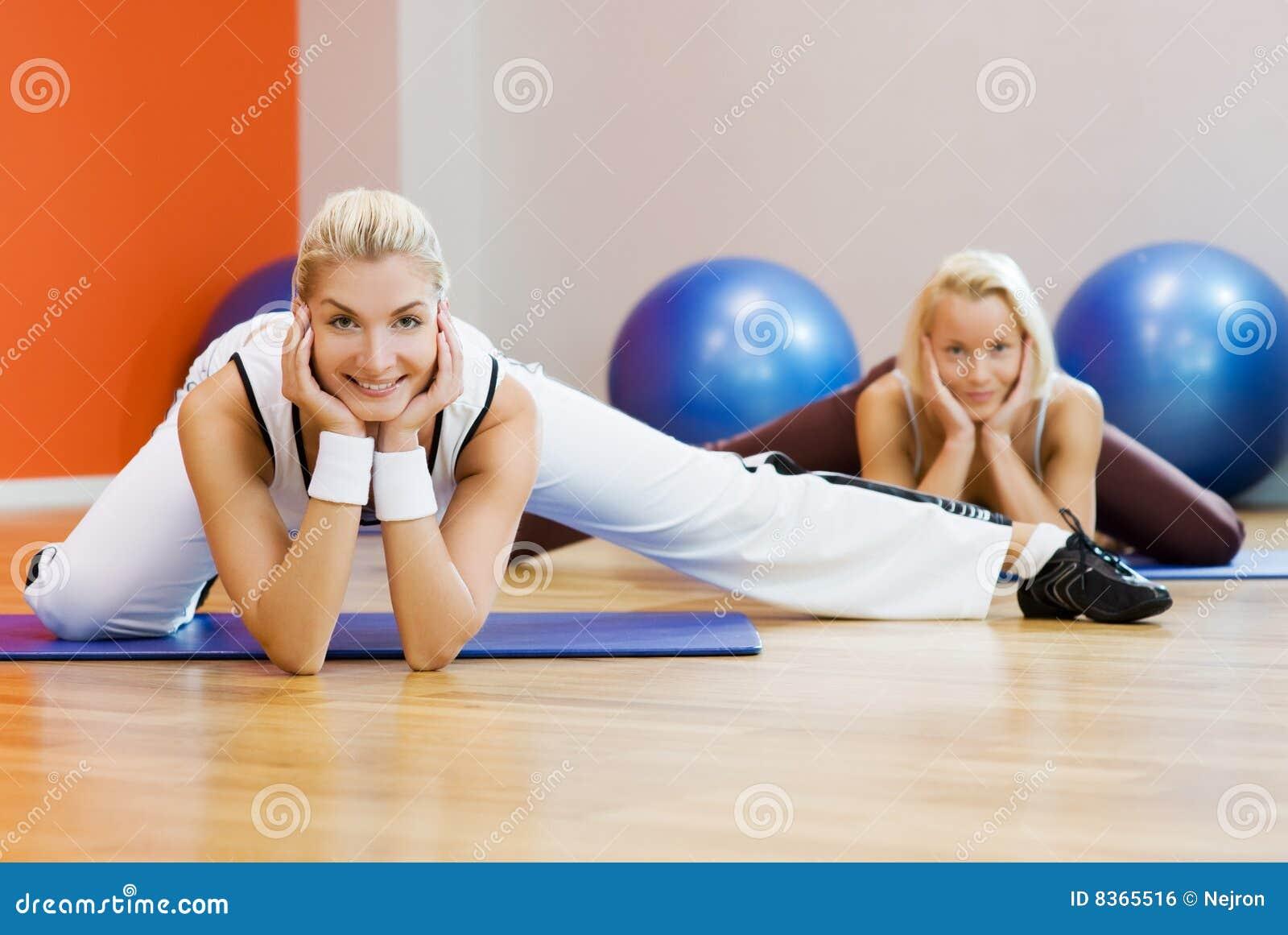 Göra övningsfolksträckning