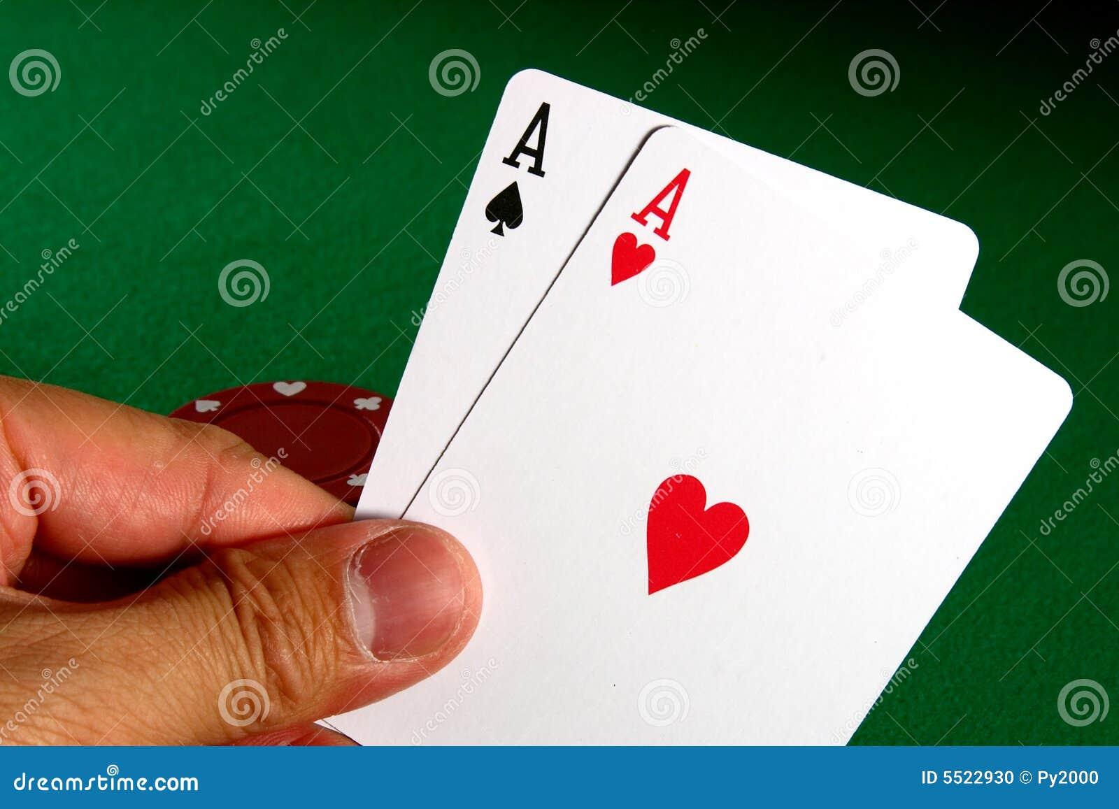 Göra ett ess på poker