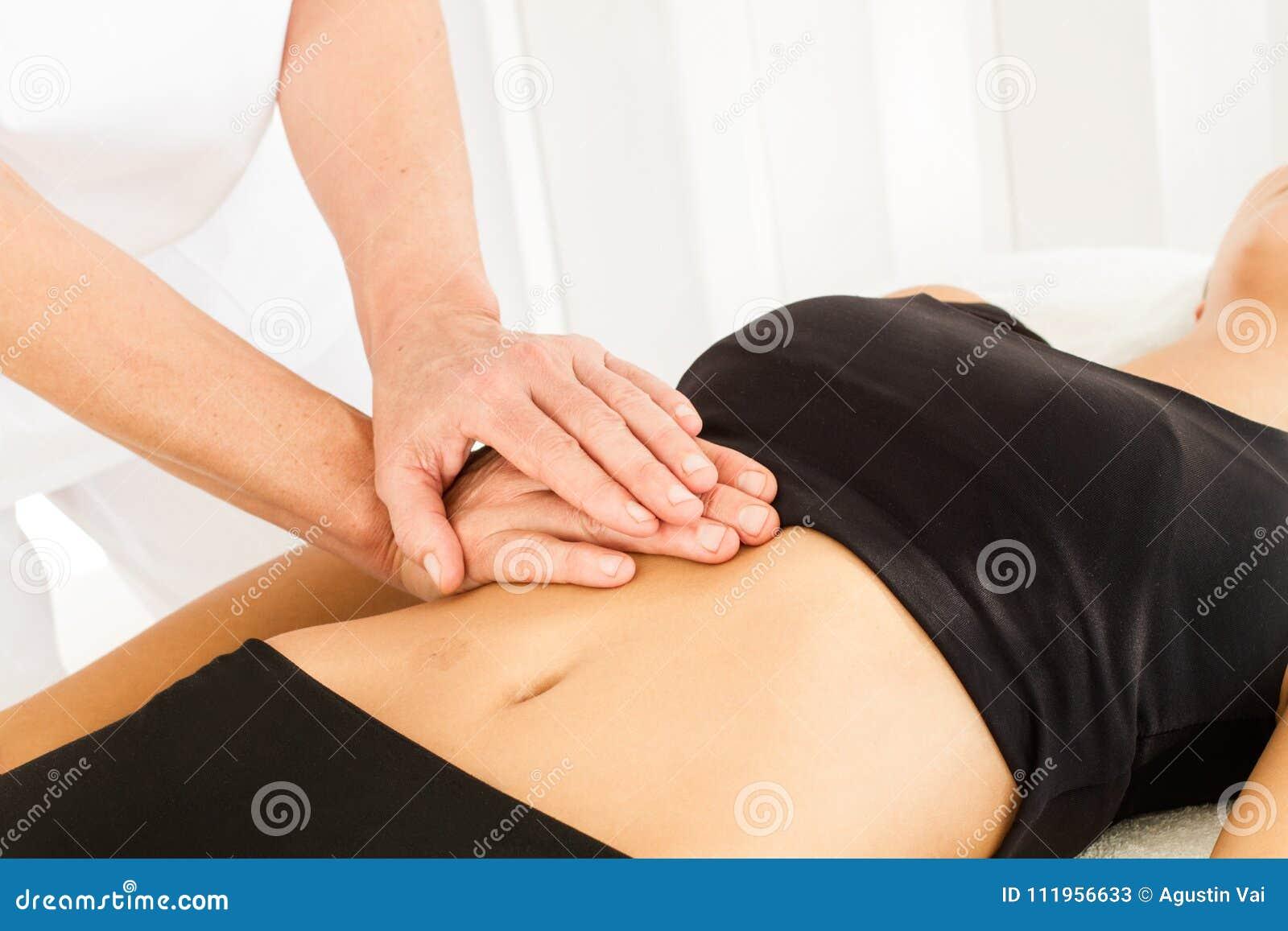 Göra massage och osteopathy