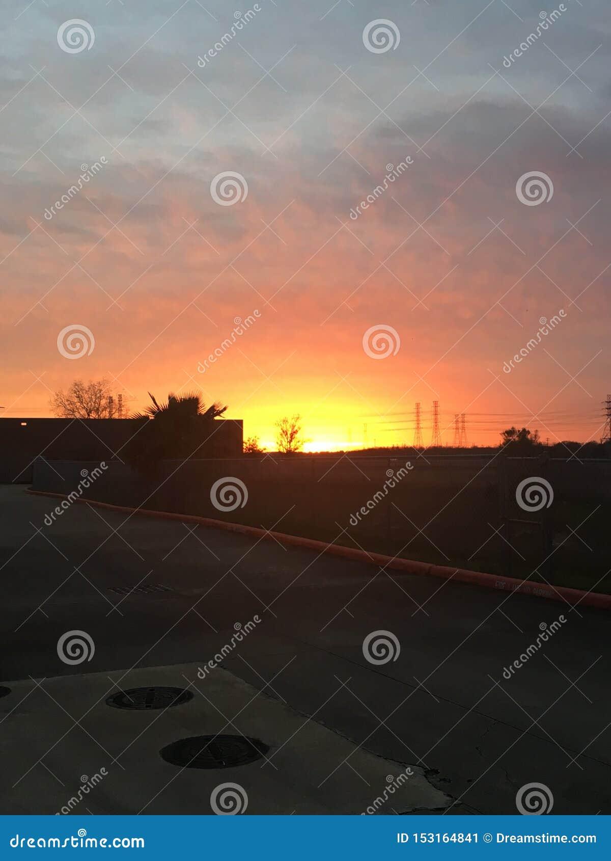 Göra ont solnedgång
