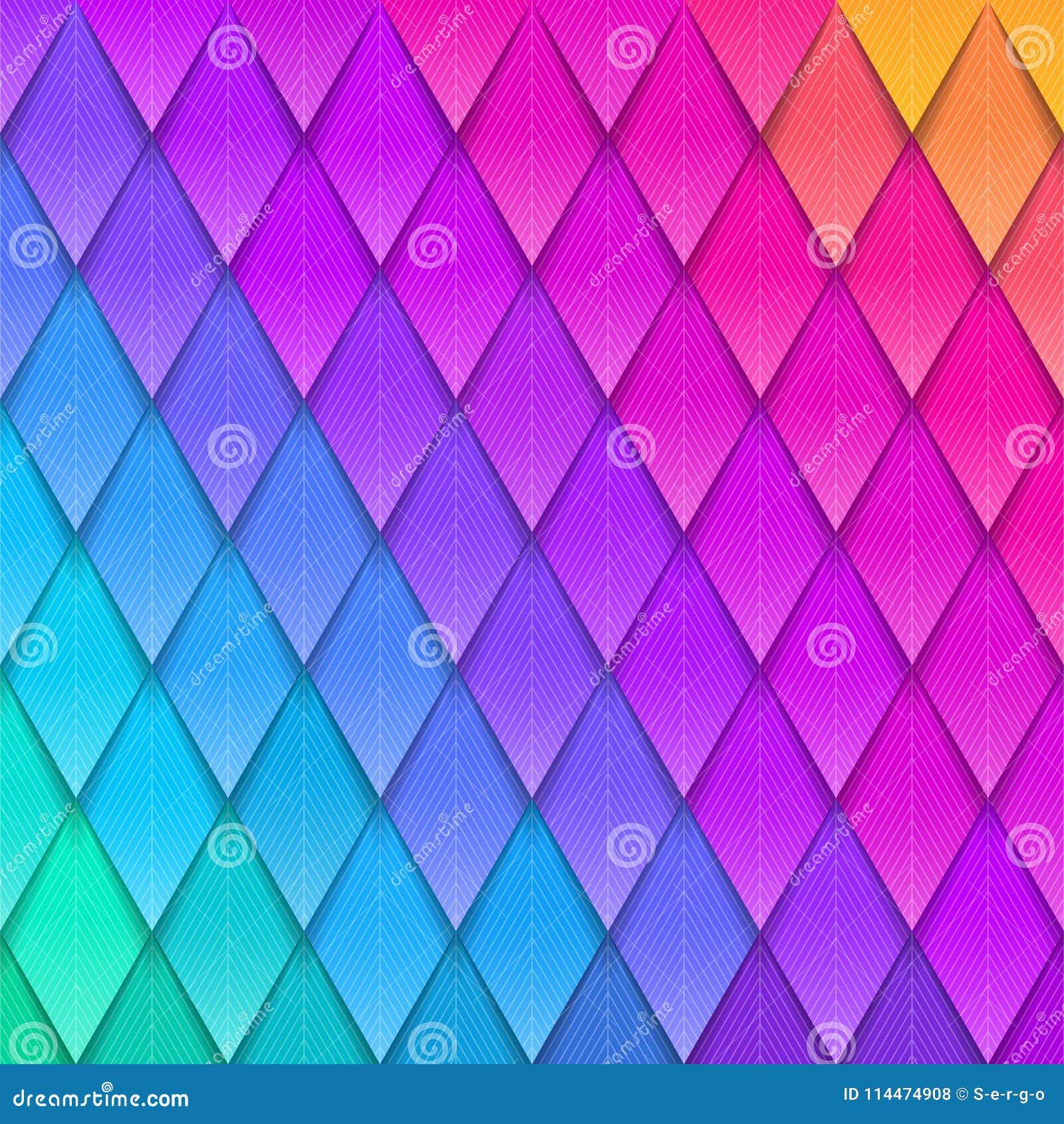 Göra sammandrag mångfärgad bakgrund Pappers- färgrik konstgjord fjäderdräkt Pappers- bakgrund för färg,
