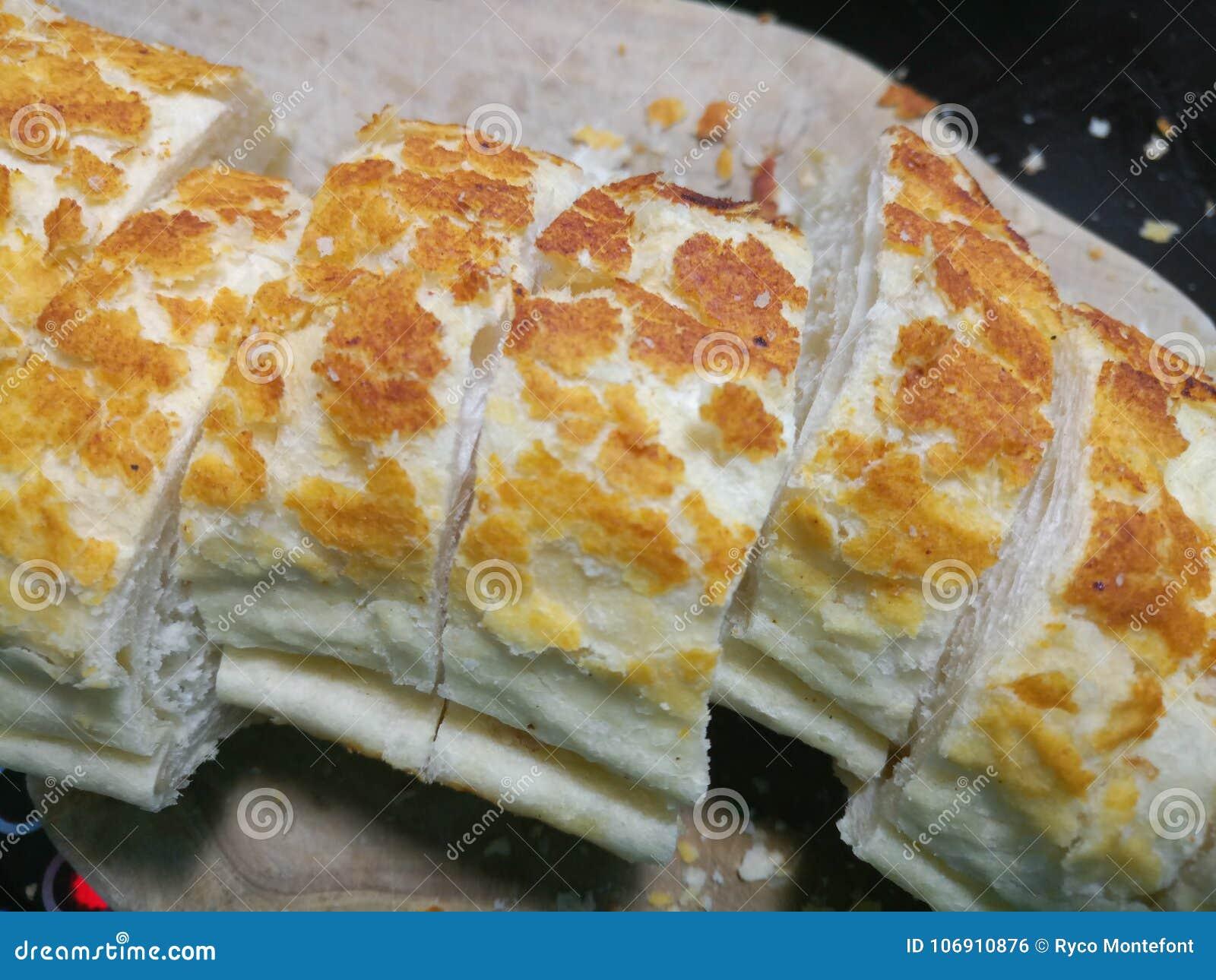Gęści plasterki długi tygrysi baguette