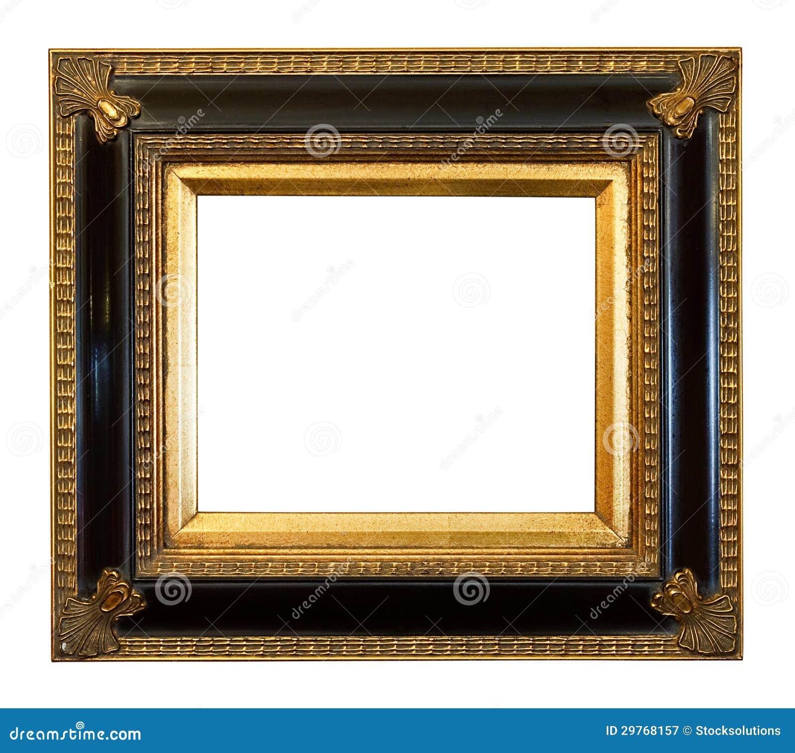 Starego antyka obrazka Pozłocista rama