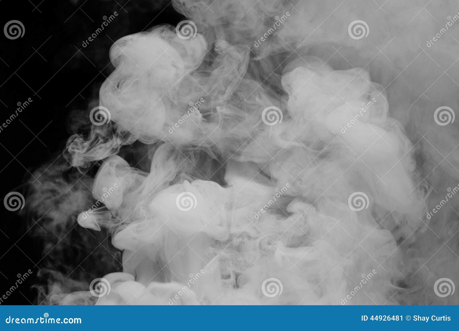 Gęsty bielu dym