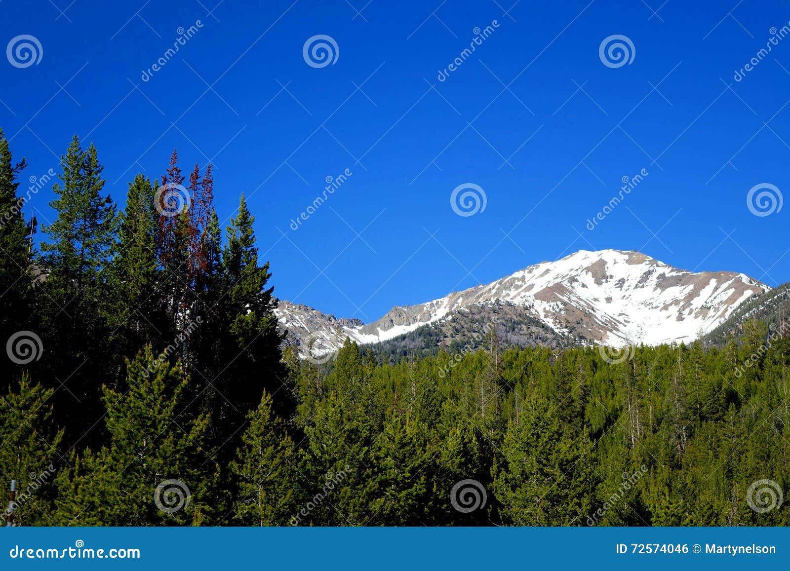 Głaz góry - galena, Idaho