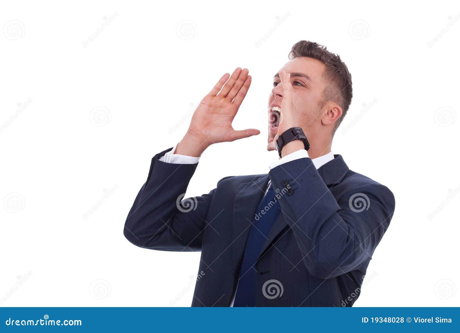 Głośny target1574_0_ potomstwa głośny mężczyzna