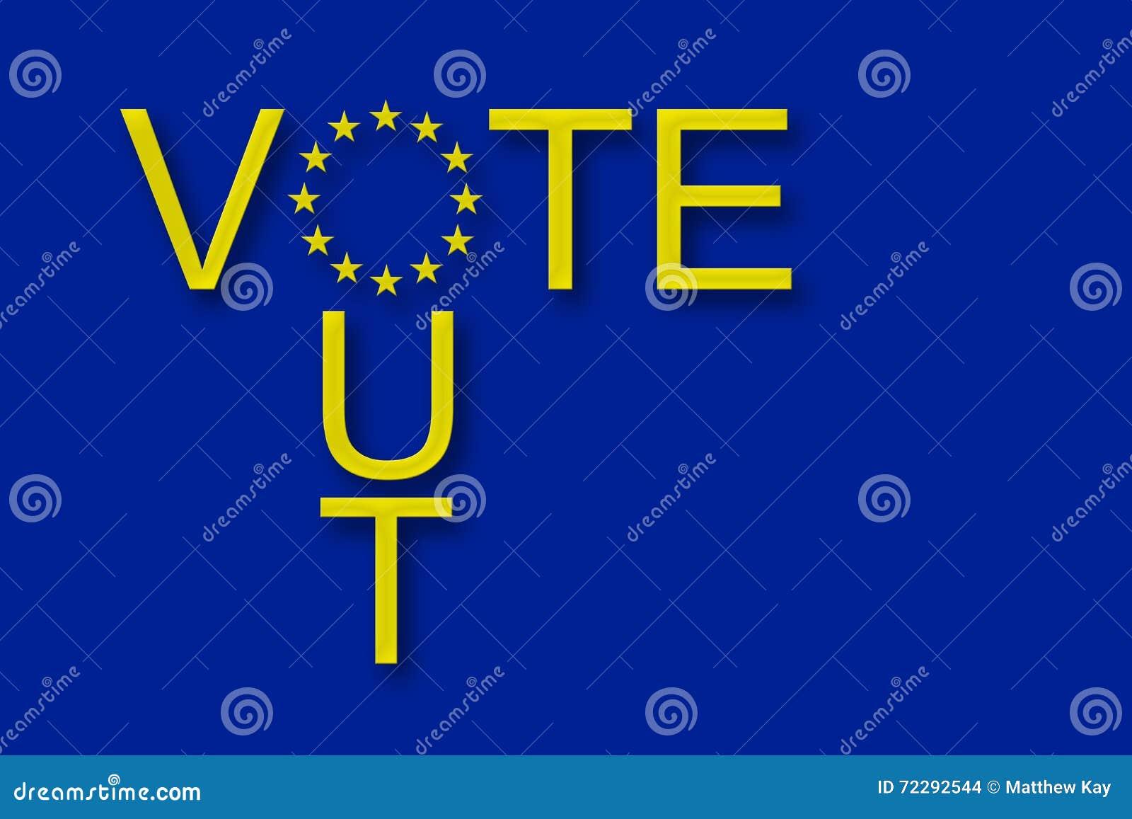 Głosowanie z Europejskiego zjednoczenia