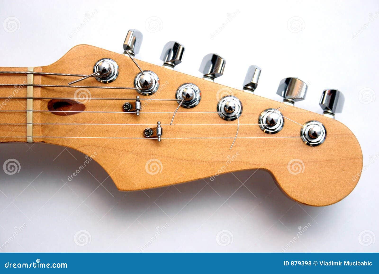 Głowa gitary elektrycznej