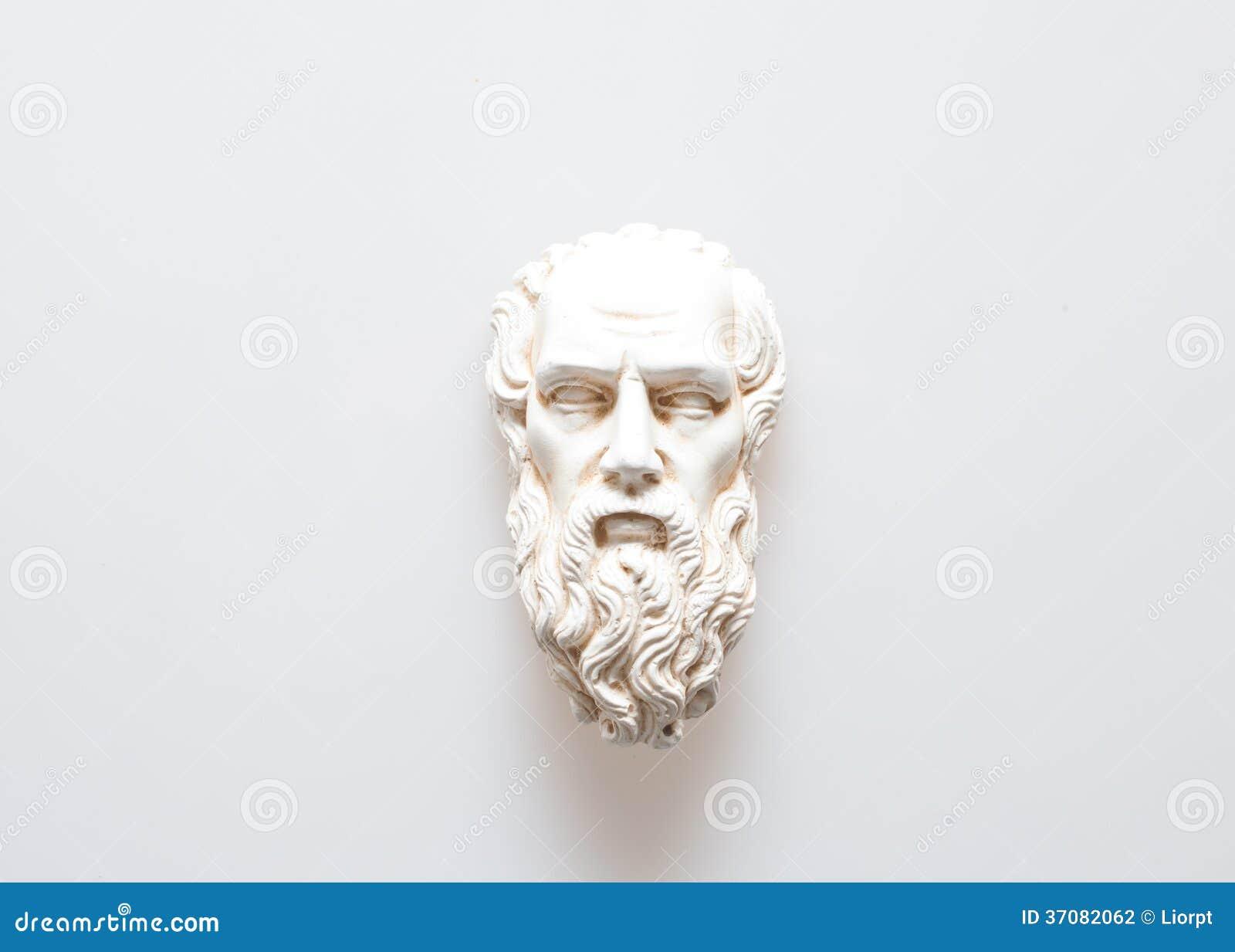 Download Głowa Zeus rzeźba zdjęcie stock. Obraz złożonej z homer - 37082062