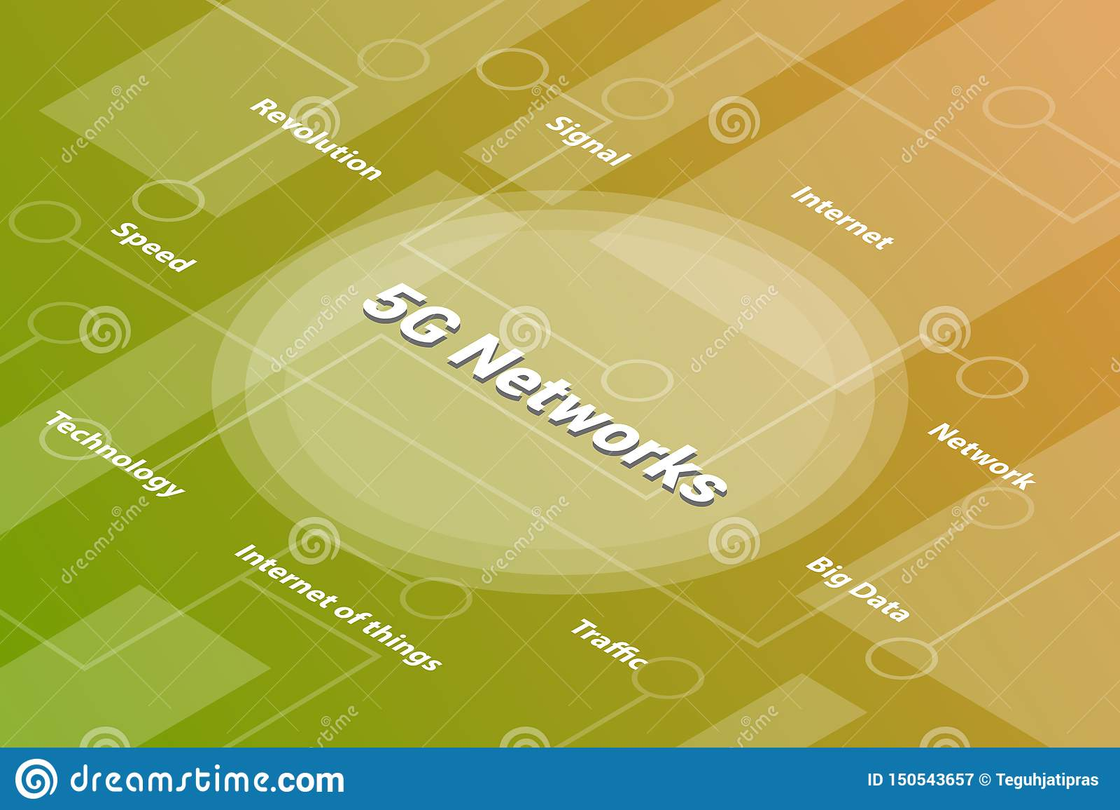 5g与被连接的某一相关文本和小点的网络或网络词等量3d词文本概念-传染媒介