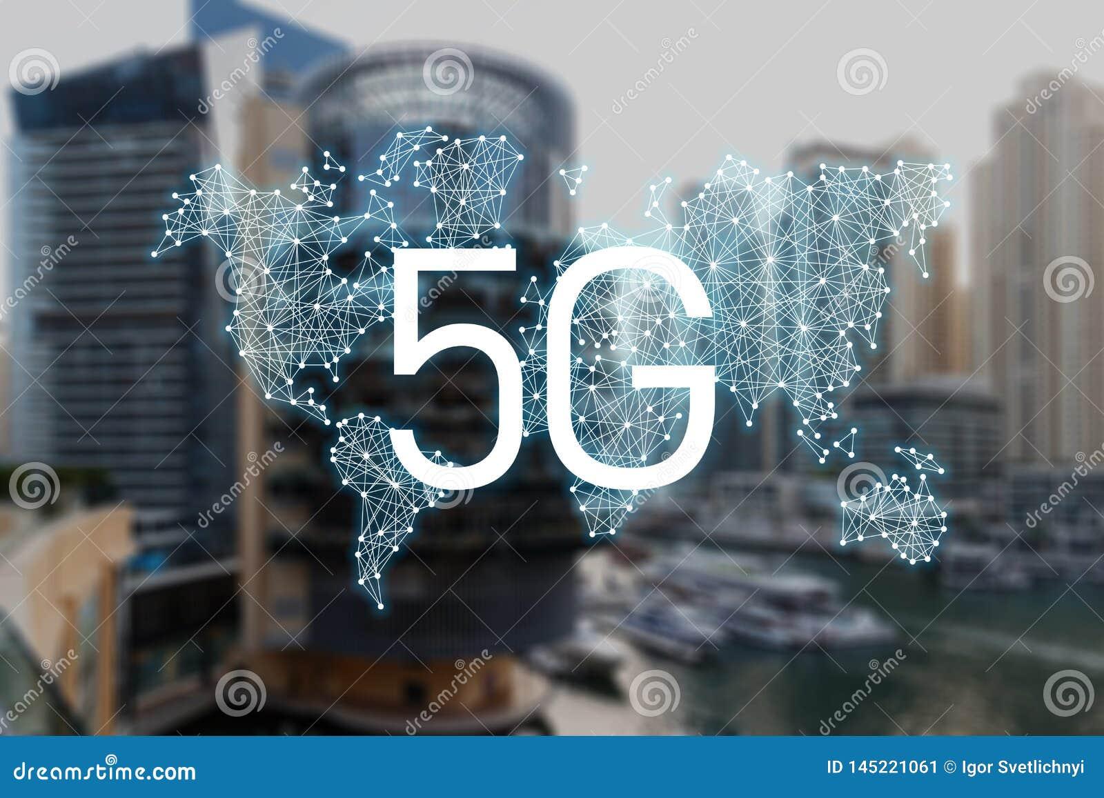 концепция 5g технологии доступа в интернет