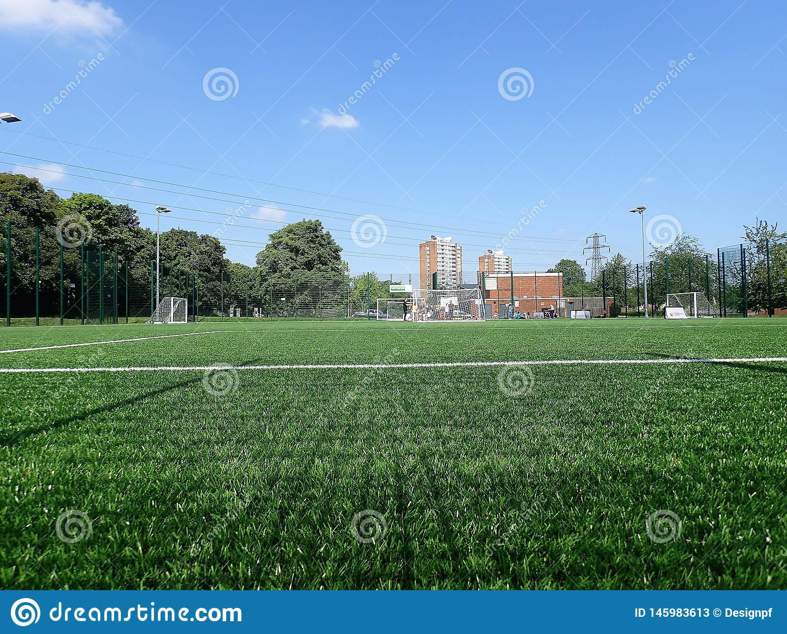 3G artificial grass pitch, Meriden Community Centre, Watford