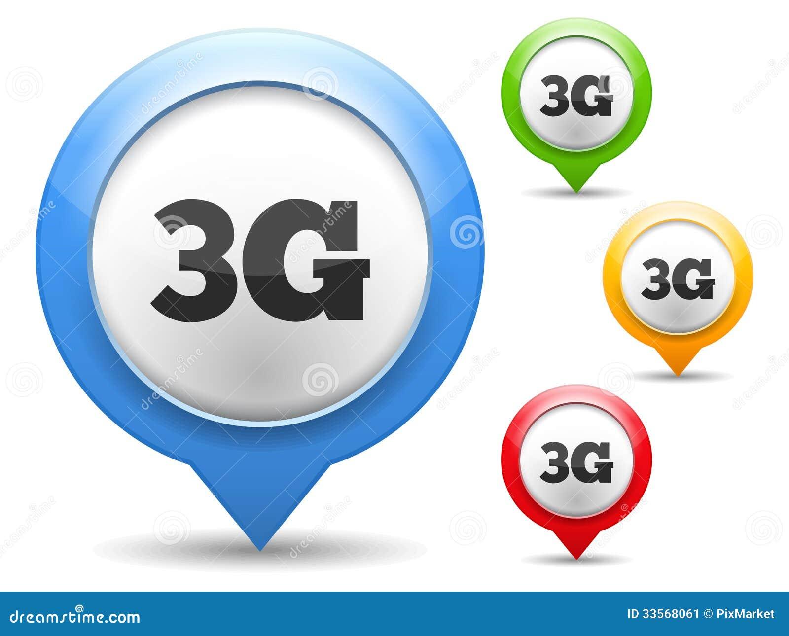 3g icon stock image   image 33568061