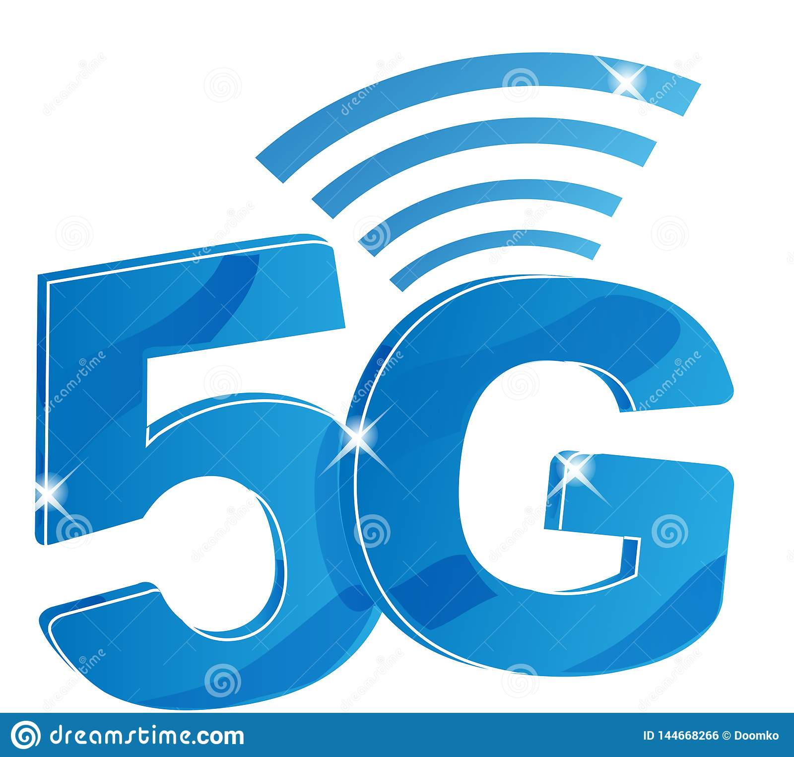 20G Internet Network Vector Logo. Isolated Icon For 20 G Mobile Net ...