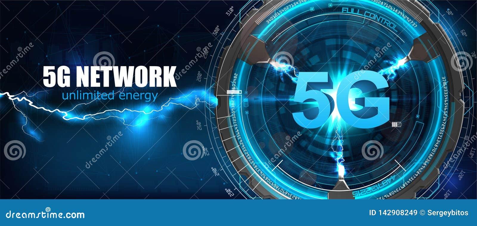 5G interneta wifi nowy bezprzewodowy związek