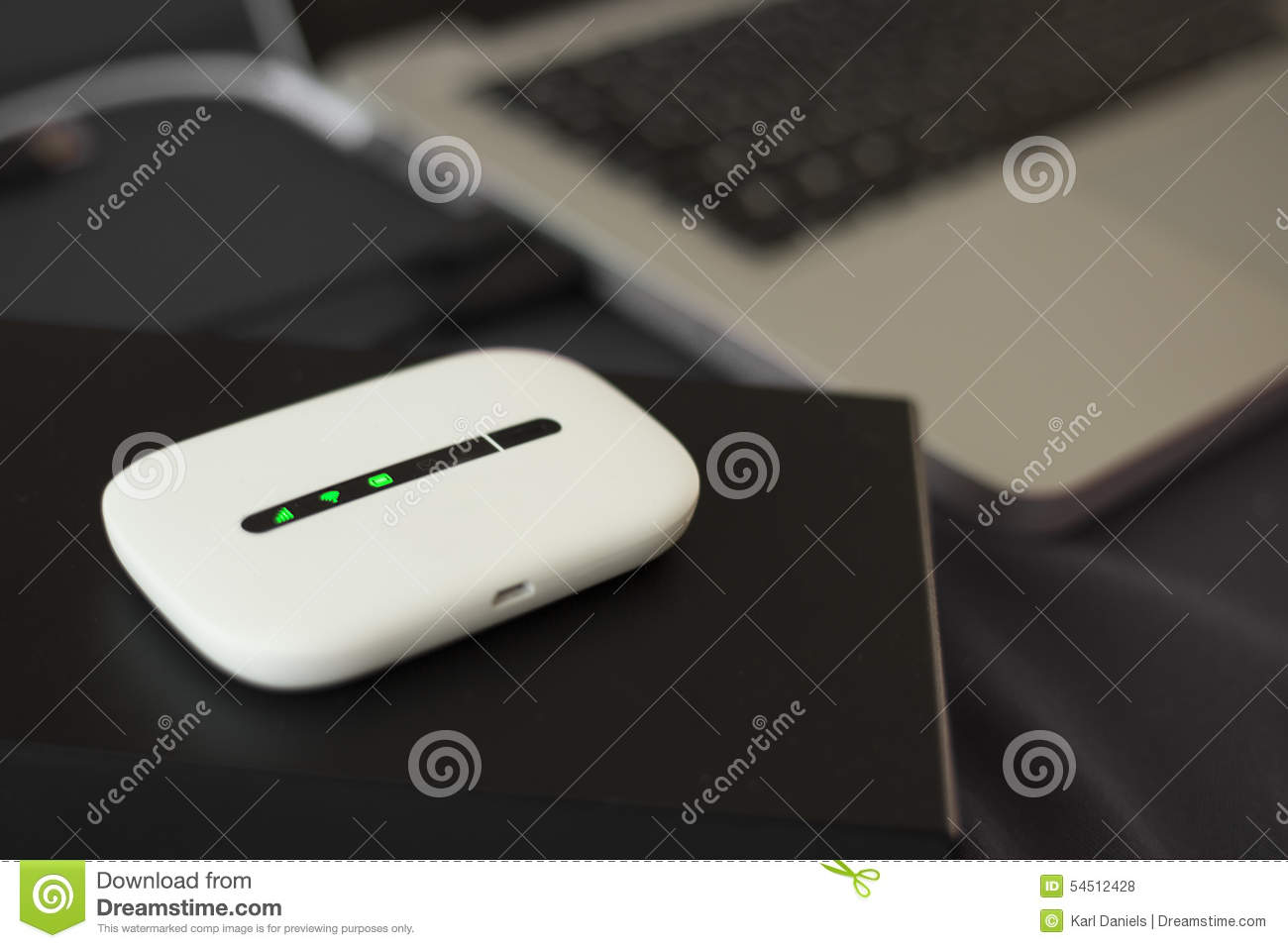 Download 3G Mini Wifi Router stock photo. Image of case, routers - 54512428