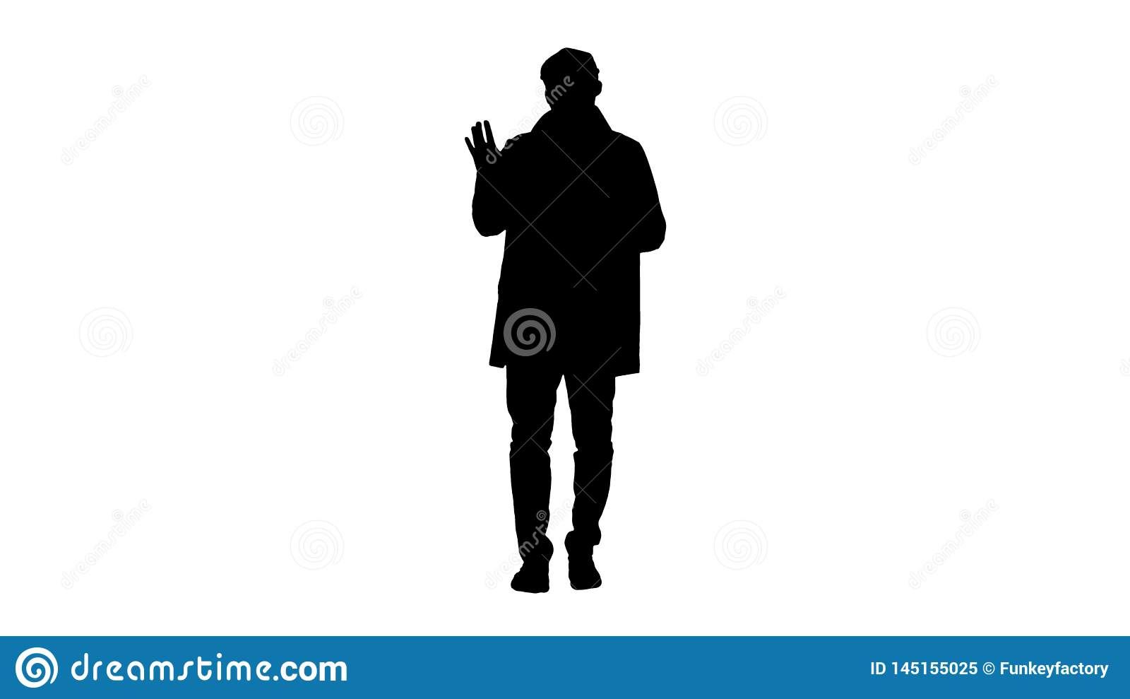 G?r den unga mannen f?r konturn i dikelag hi gest