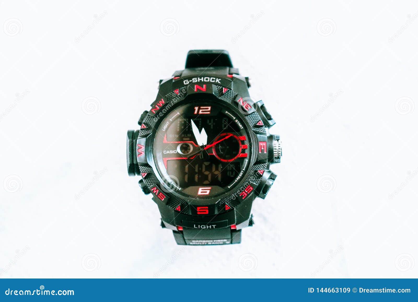 G_shock wrist watch