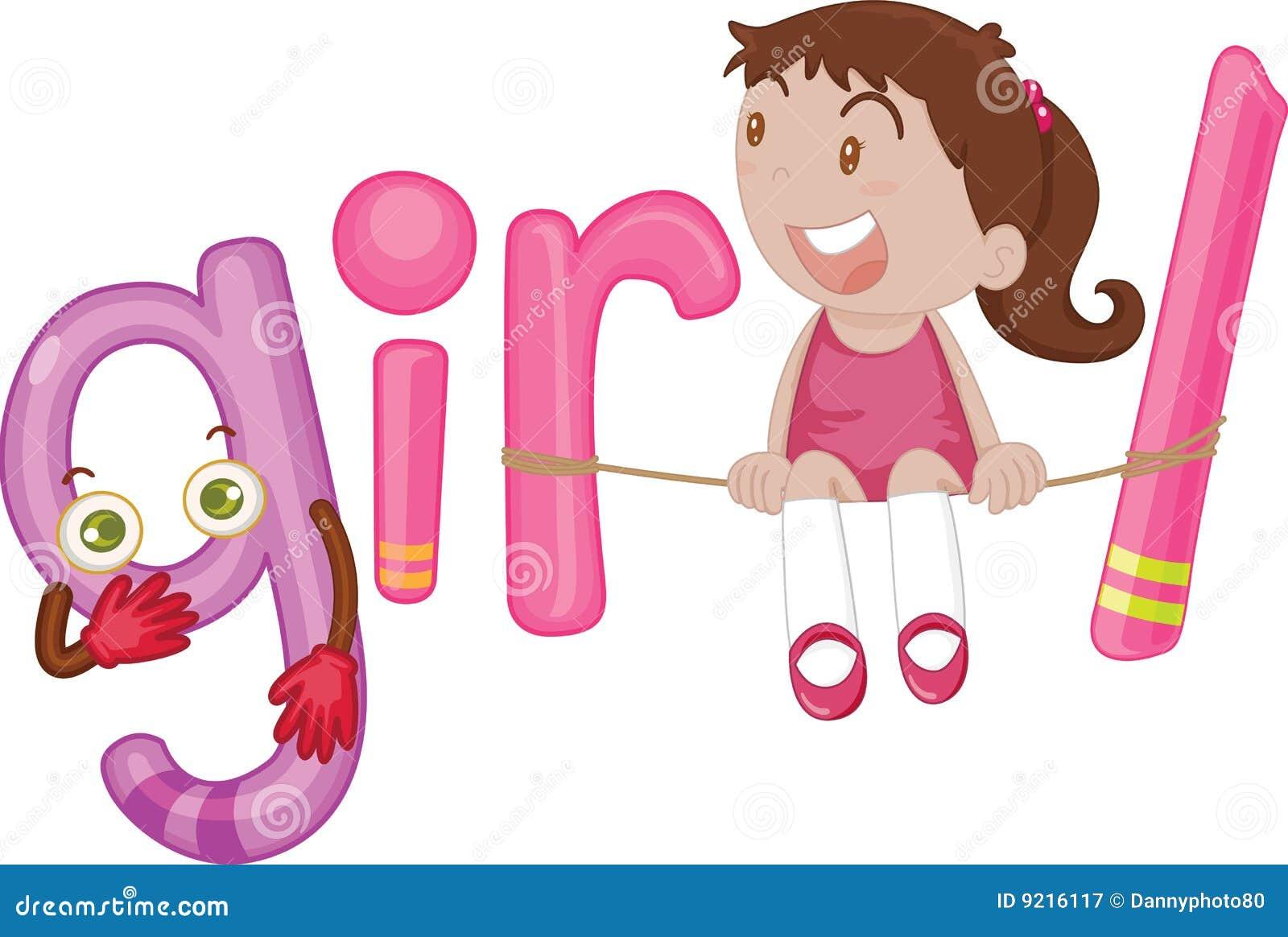 G voor meisje