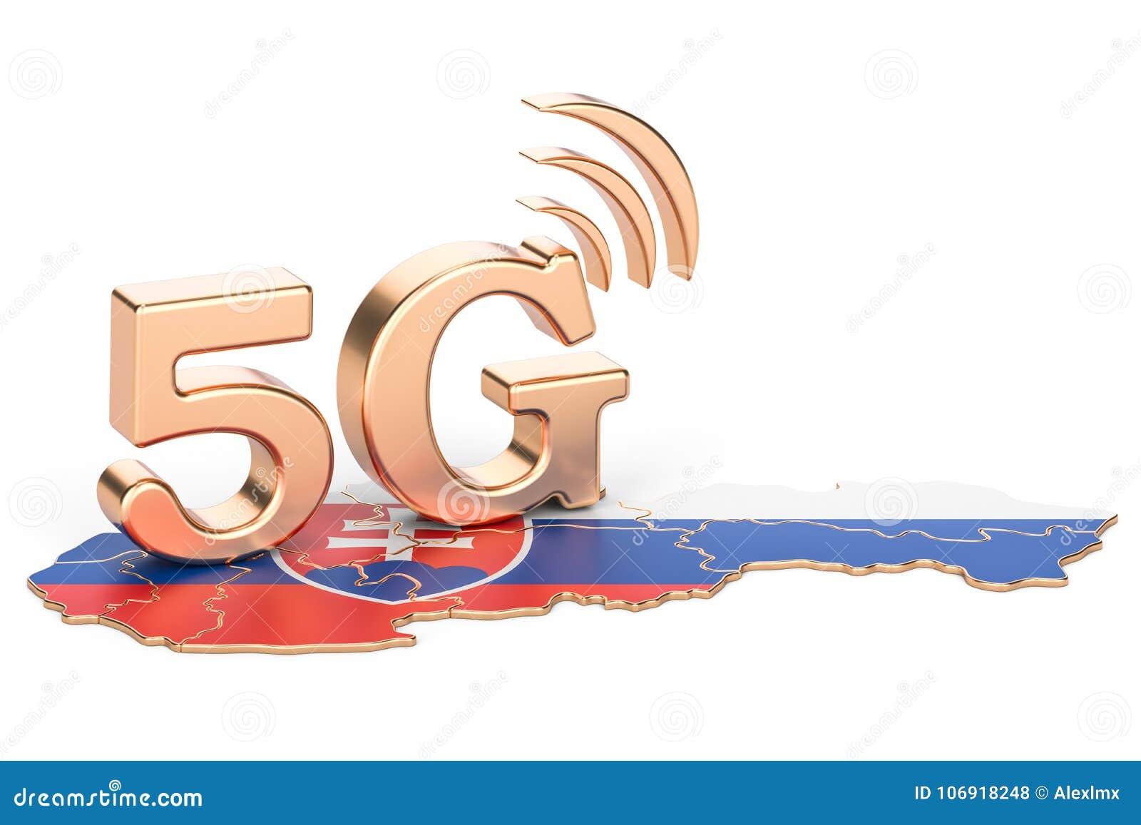5G w Sistani pojęciu, 3D rendering