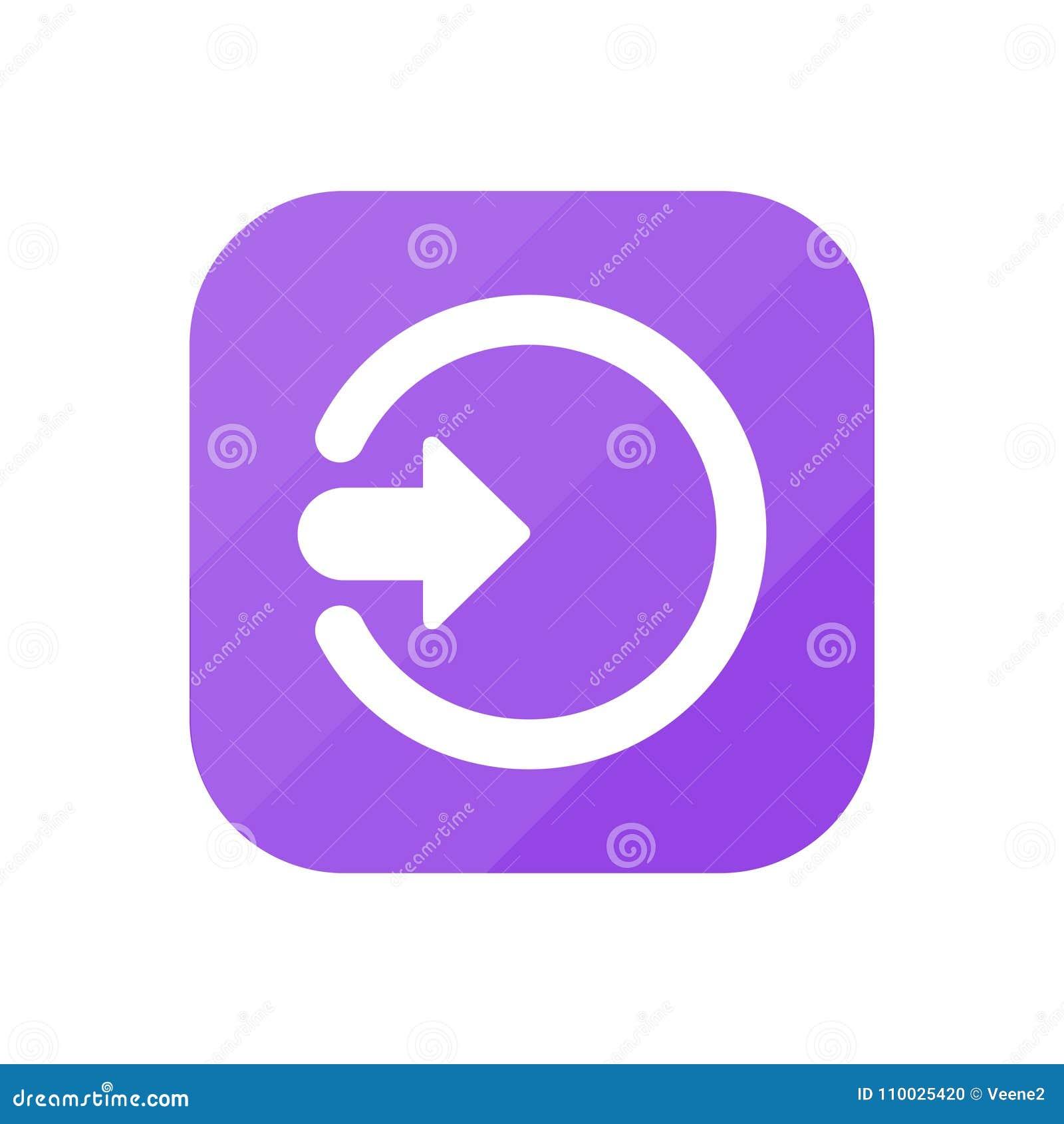 Ga - App Pictogram binnen