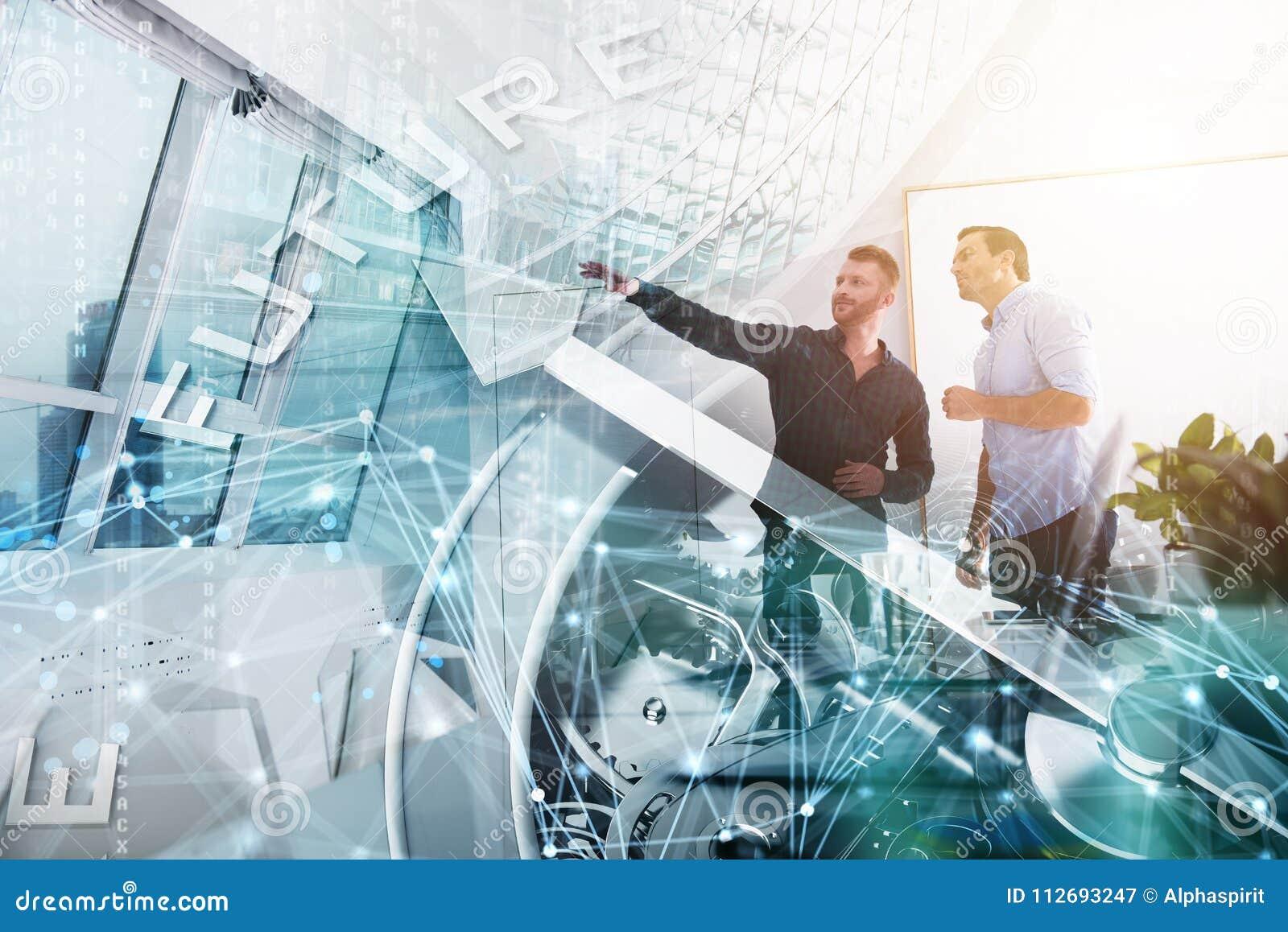 Ga uw bedrijf door het in de toekomst vooruit te leiden