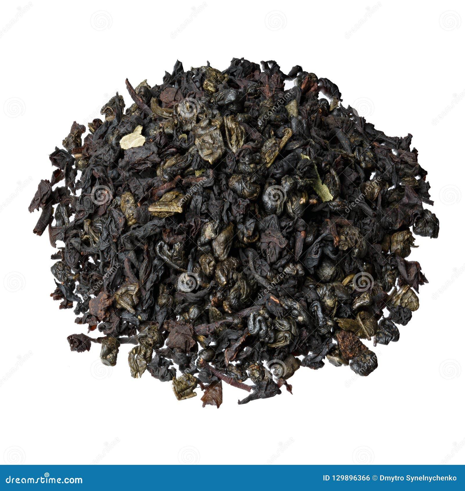 Gaat de mengsel-blad zwarte thee van Ceylon en China, met de toevoeging van stukken en aardbei weg