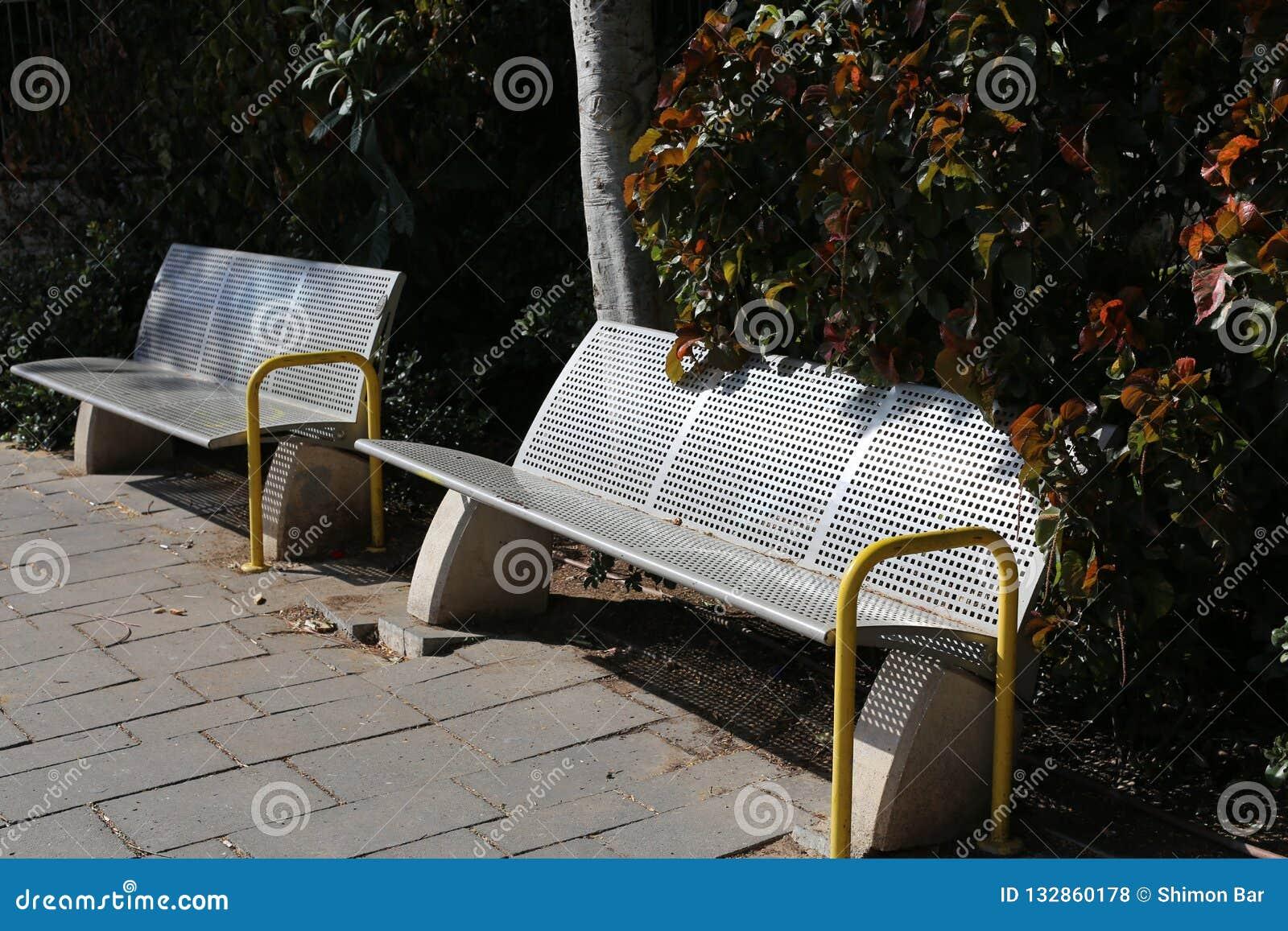 Gabarits en parc de ville