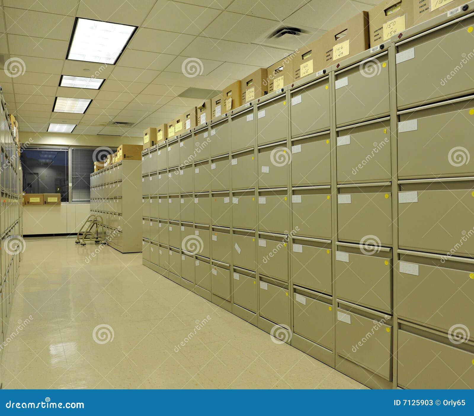 Gabinetów kartoteki biuro