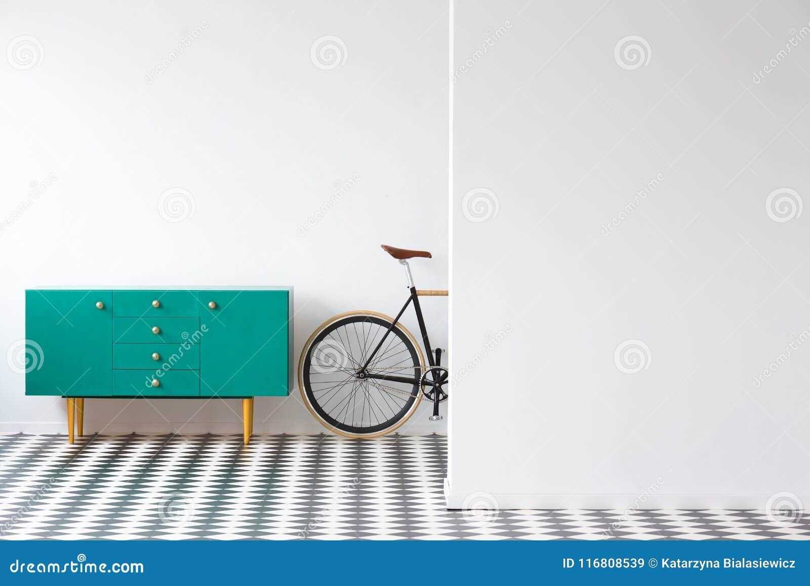 Gabinetto verde in pianamente interno