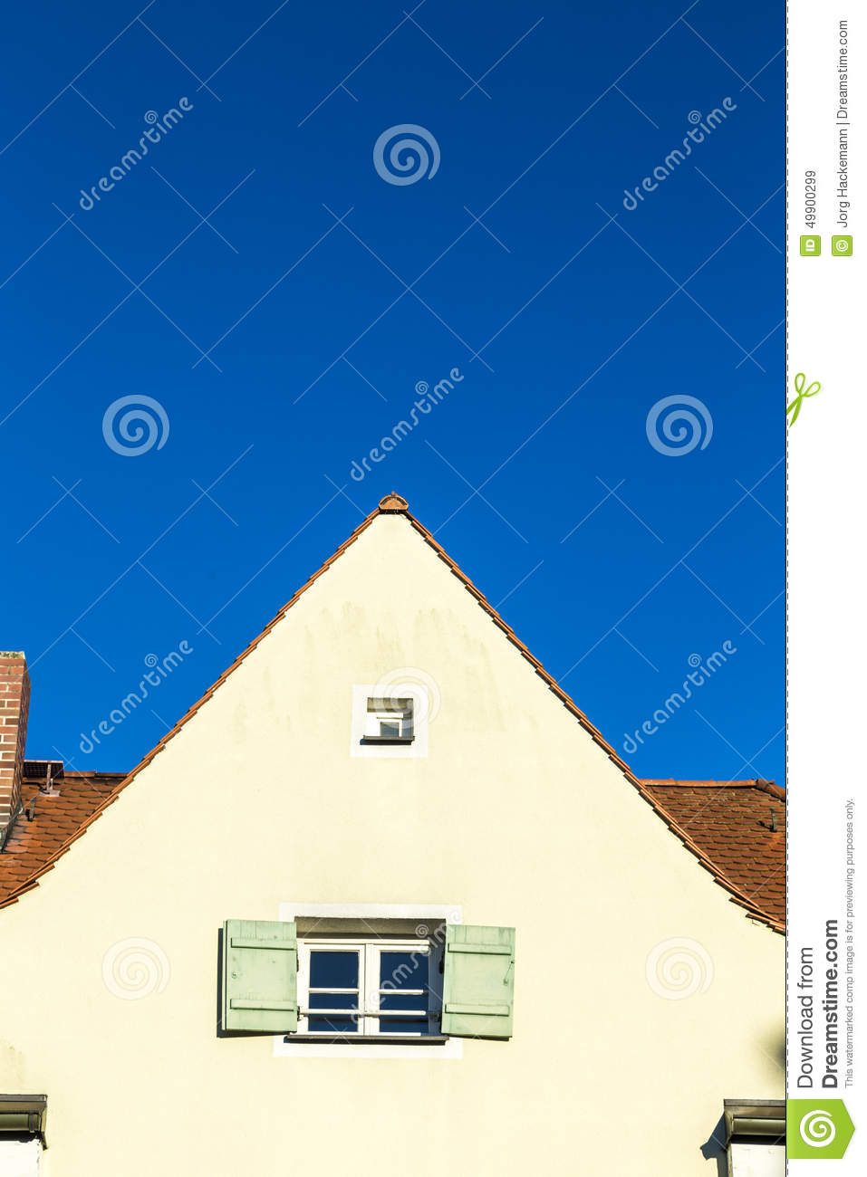 Gable with window