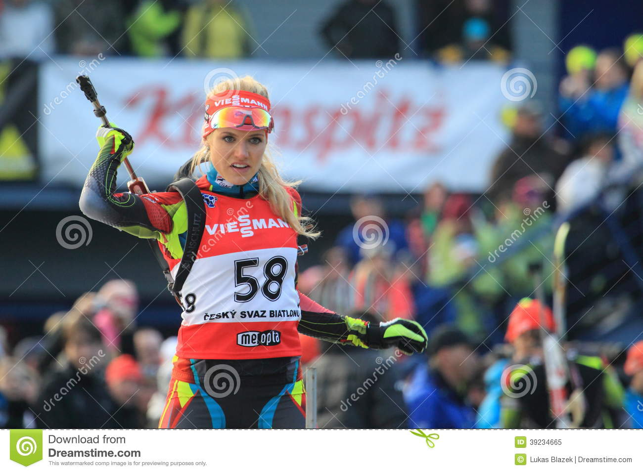 Biathlonist Gabriela Sukalova: photo, achievements