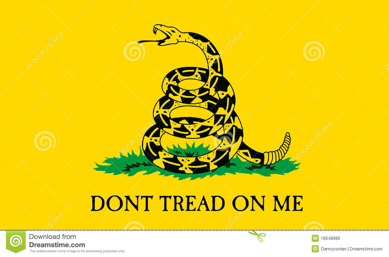 dont tread on me clipart step by step current - 1024×614